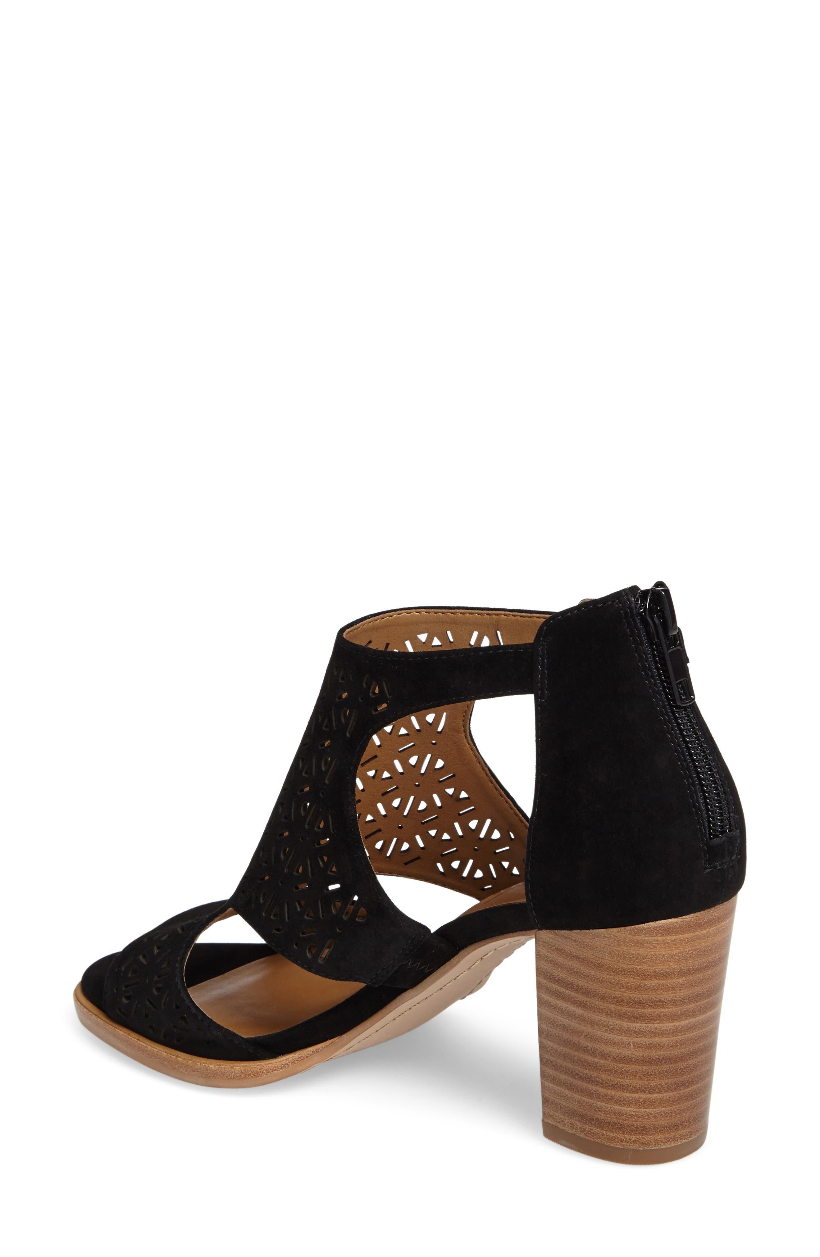 Edythe Block Heel Sandal,                             Alternate thumbnail 2, color,                             001