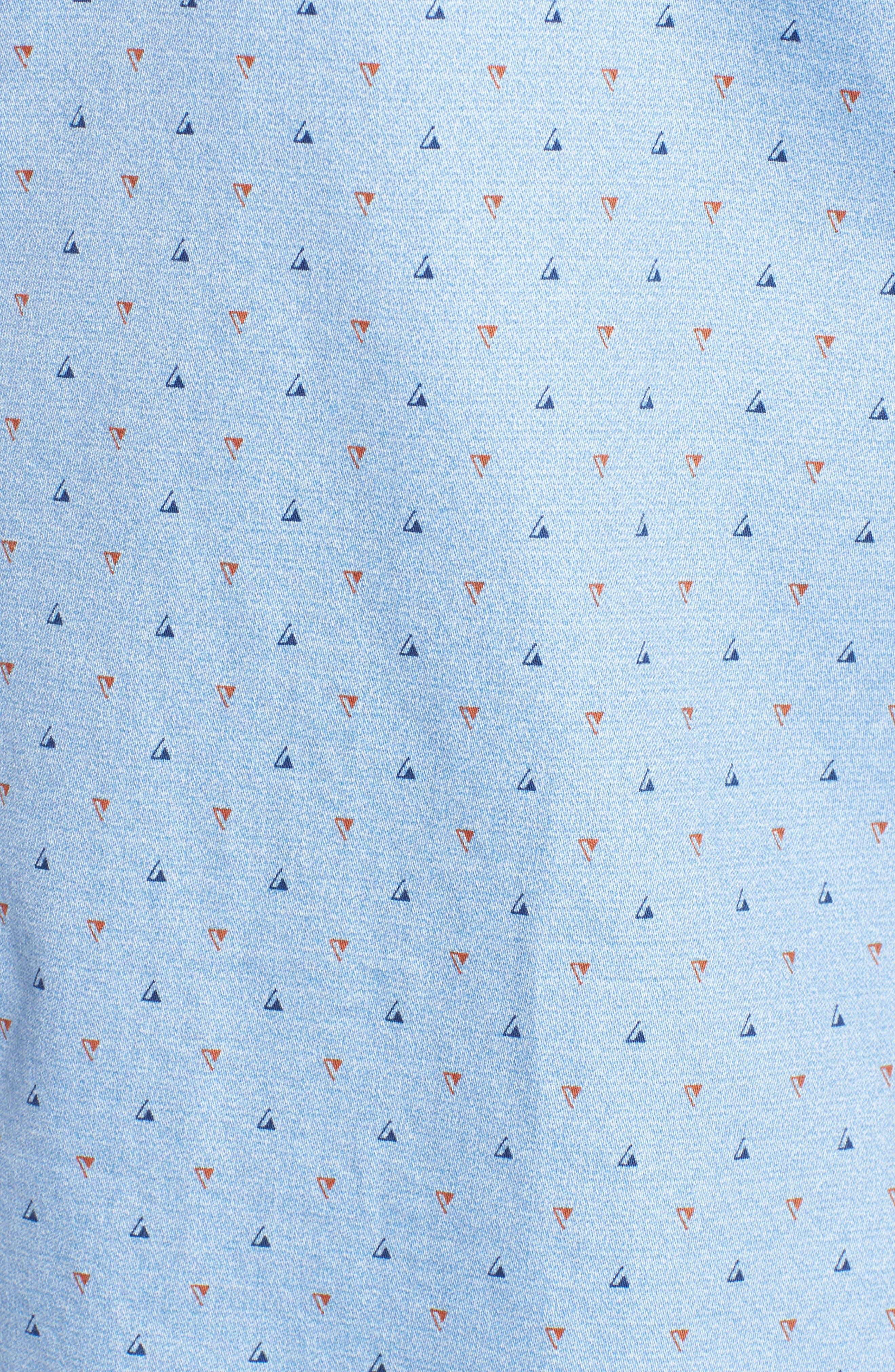 Penzance Regular Fit Sport Shirt,                             Alternate thumbnail 5, color,                             456