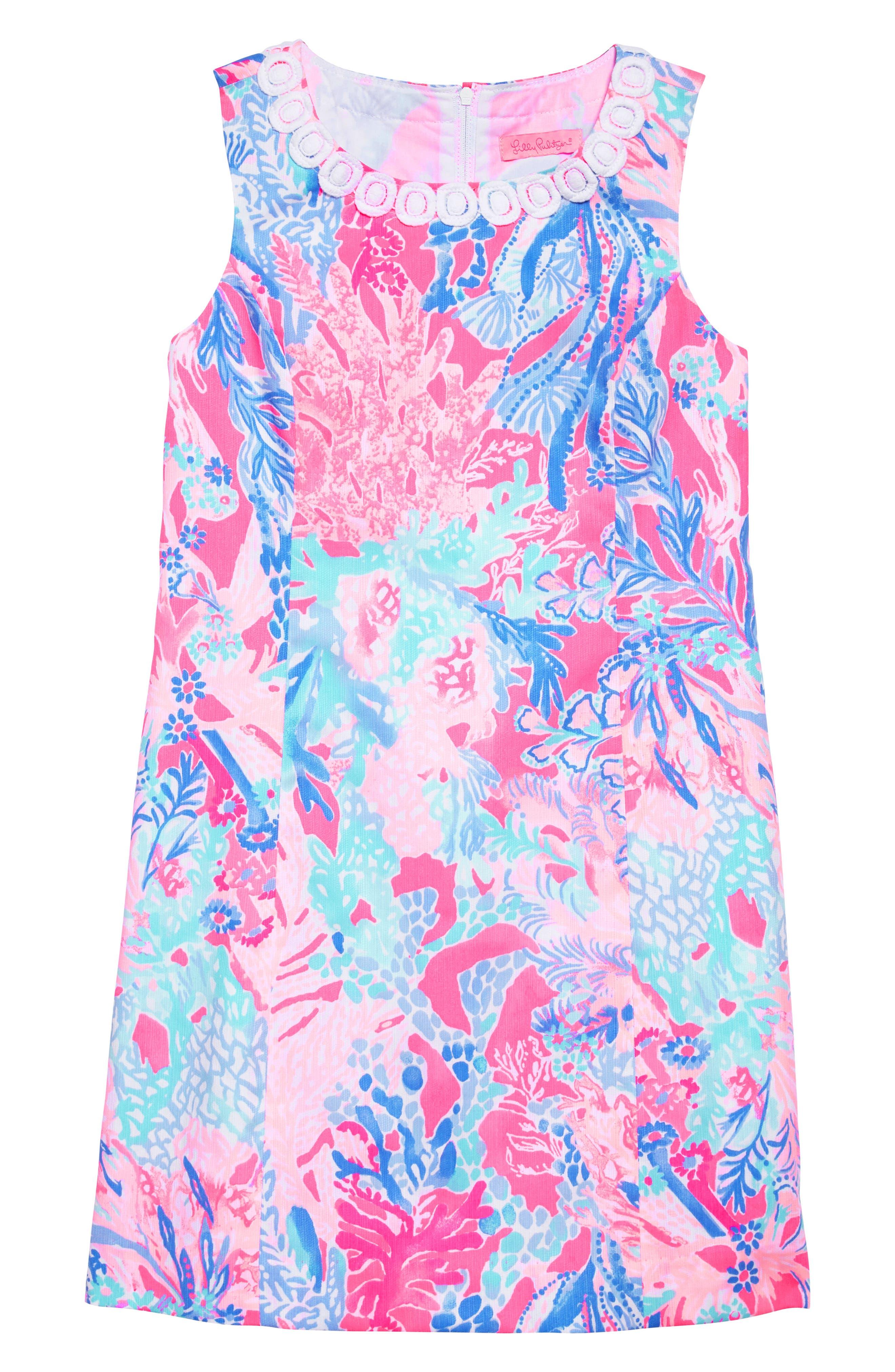 Mini Mila Shift Dress,                         Main,                         color, 686