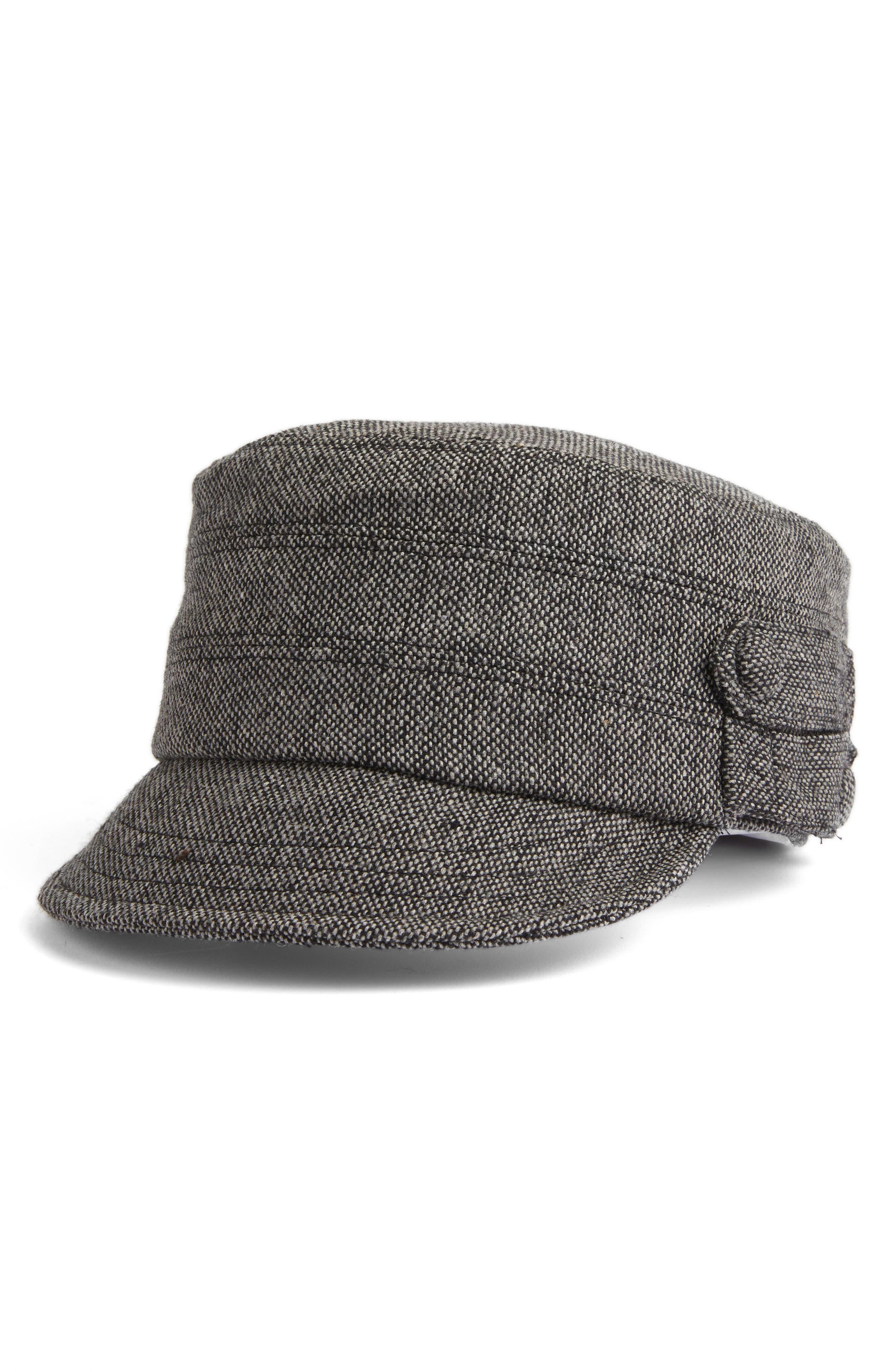 807928132567. Women s San Diego Hat Tweed Cap - Black 480d7b8b5c9e