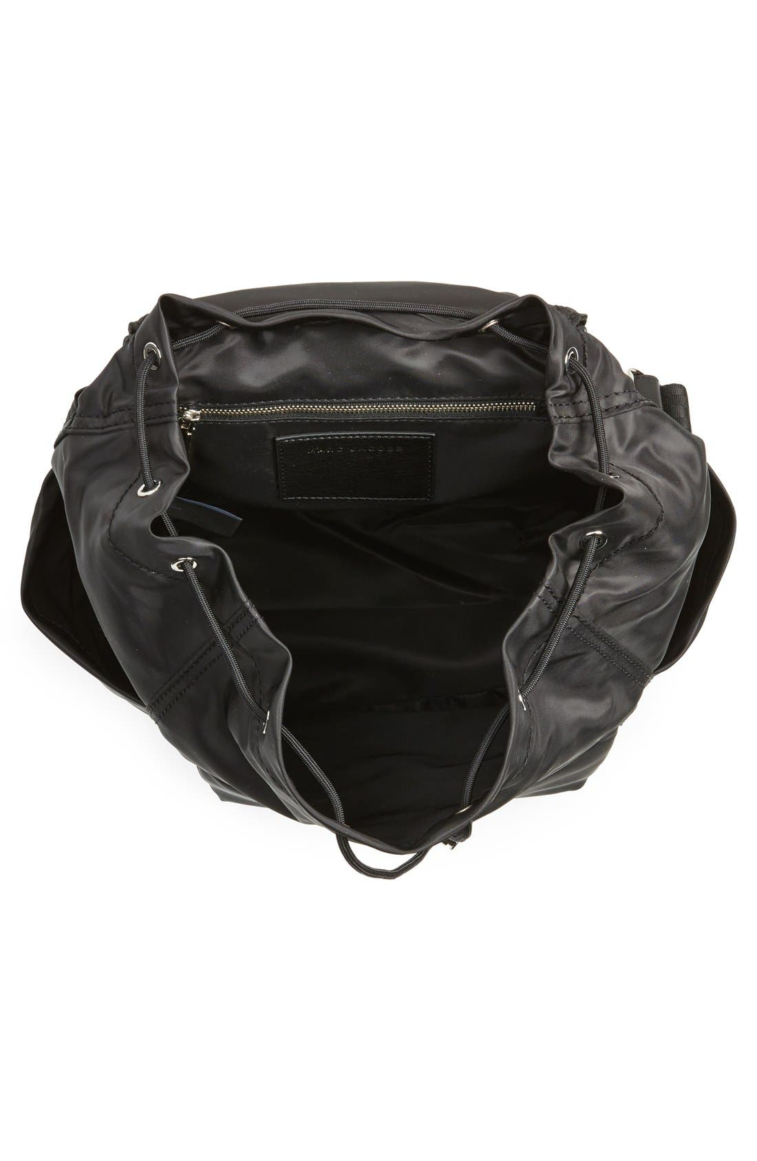 MARC JACOBS,                             'Easy' Backpack,                             Alternate thumbnail 5, color,                             001