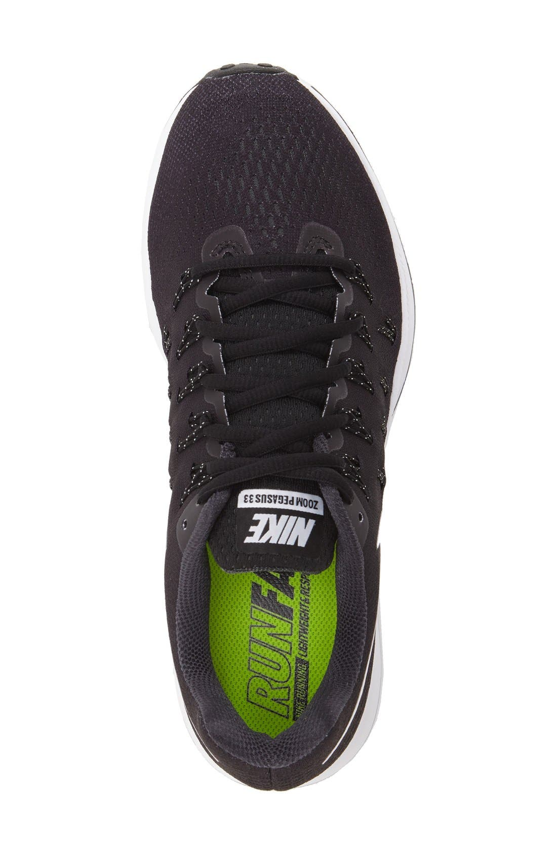 'Air Zoom Pegasus 33' Sneaker,                             Alternate thumbnail 3, color,                             001