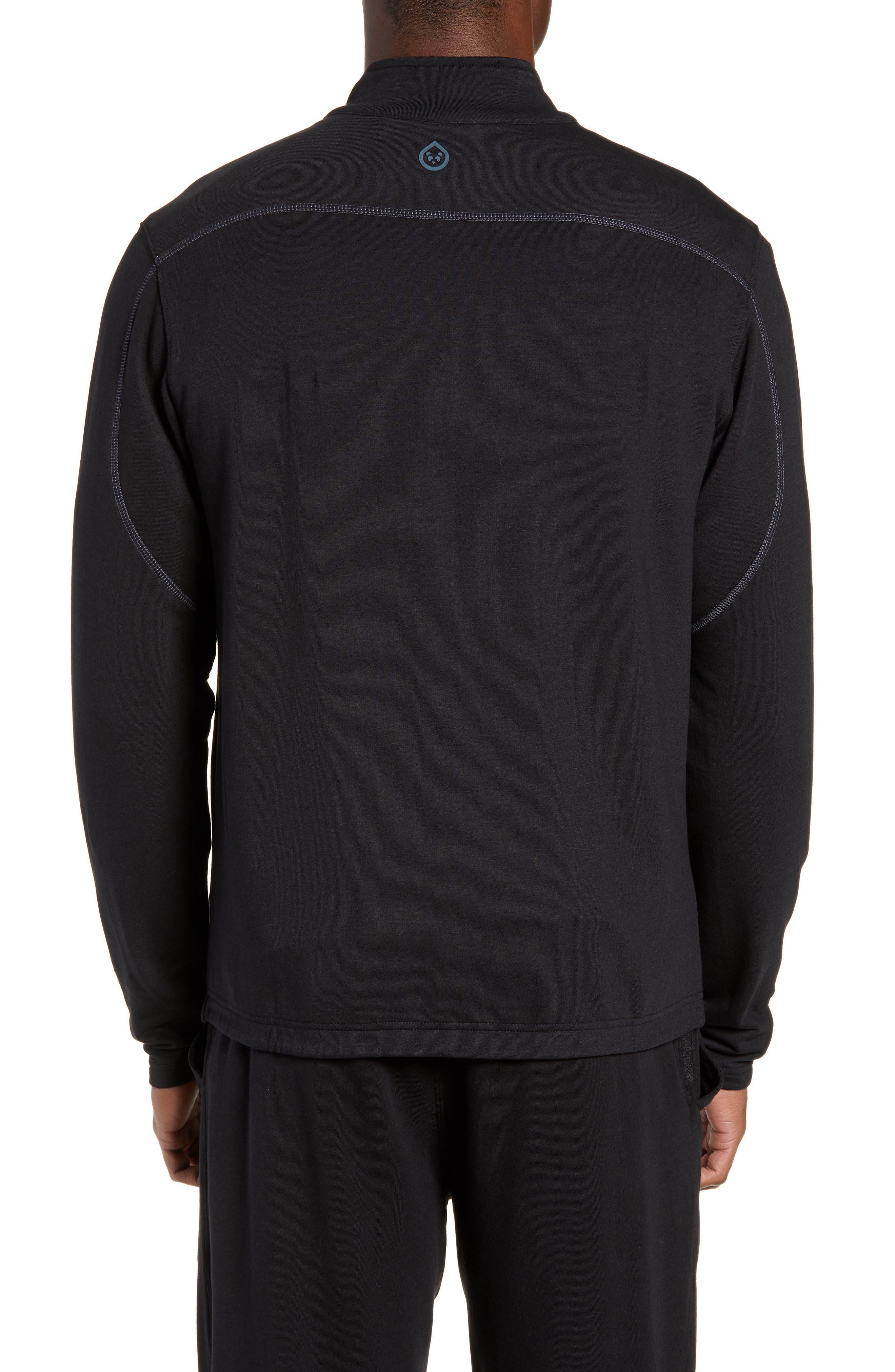 Tahoe II Fleece Jacket,                             Alternate thumbnail 2, color,                             BLACK