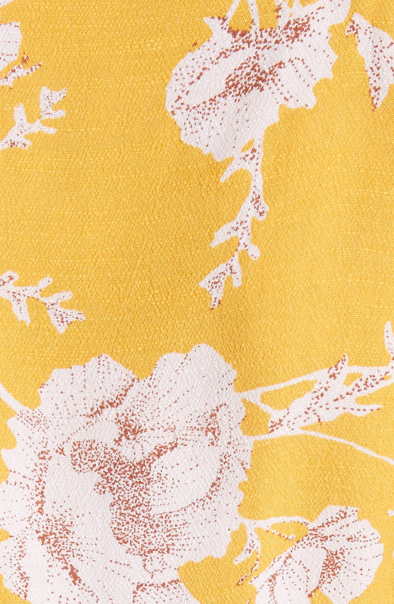 French Quarter Print Wrap Minidress,                             Alternate thumbnail 23, color,
