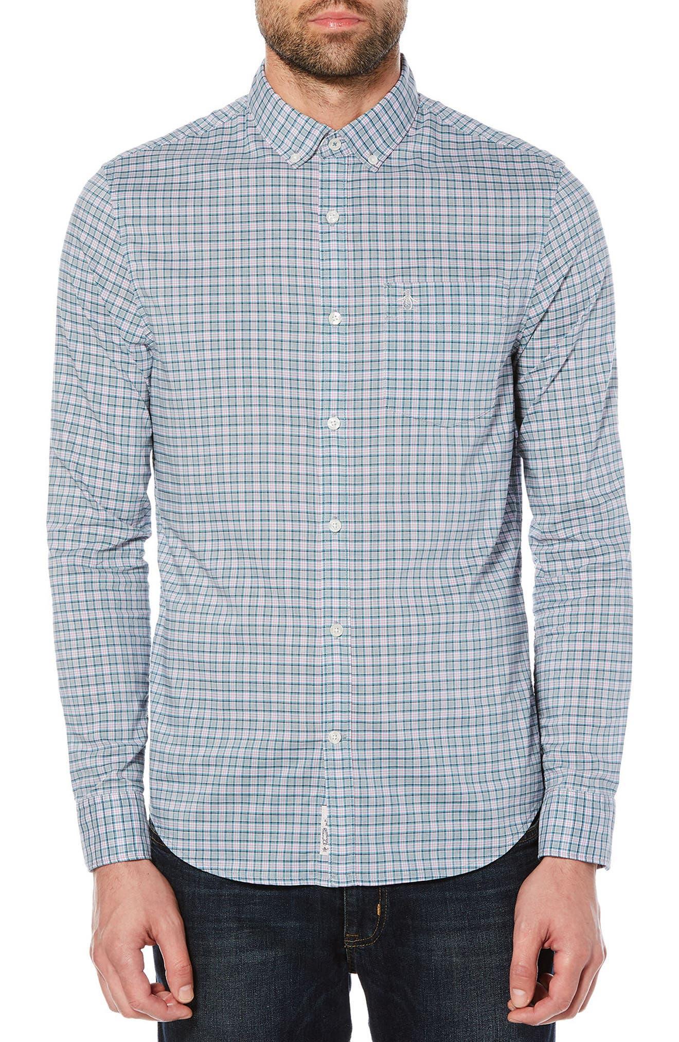 P55 Stretch Shirt,                             Main thumbnail 1, color,                             051