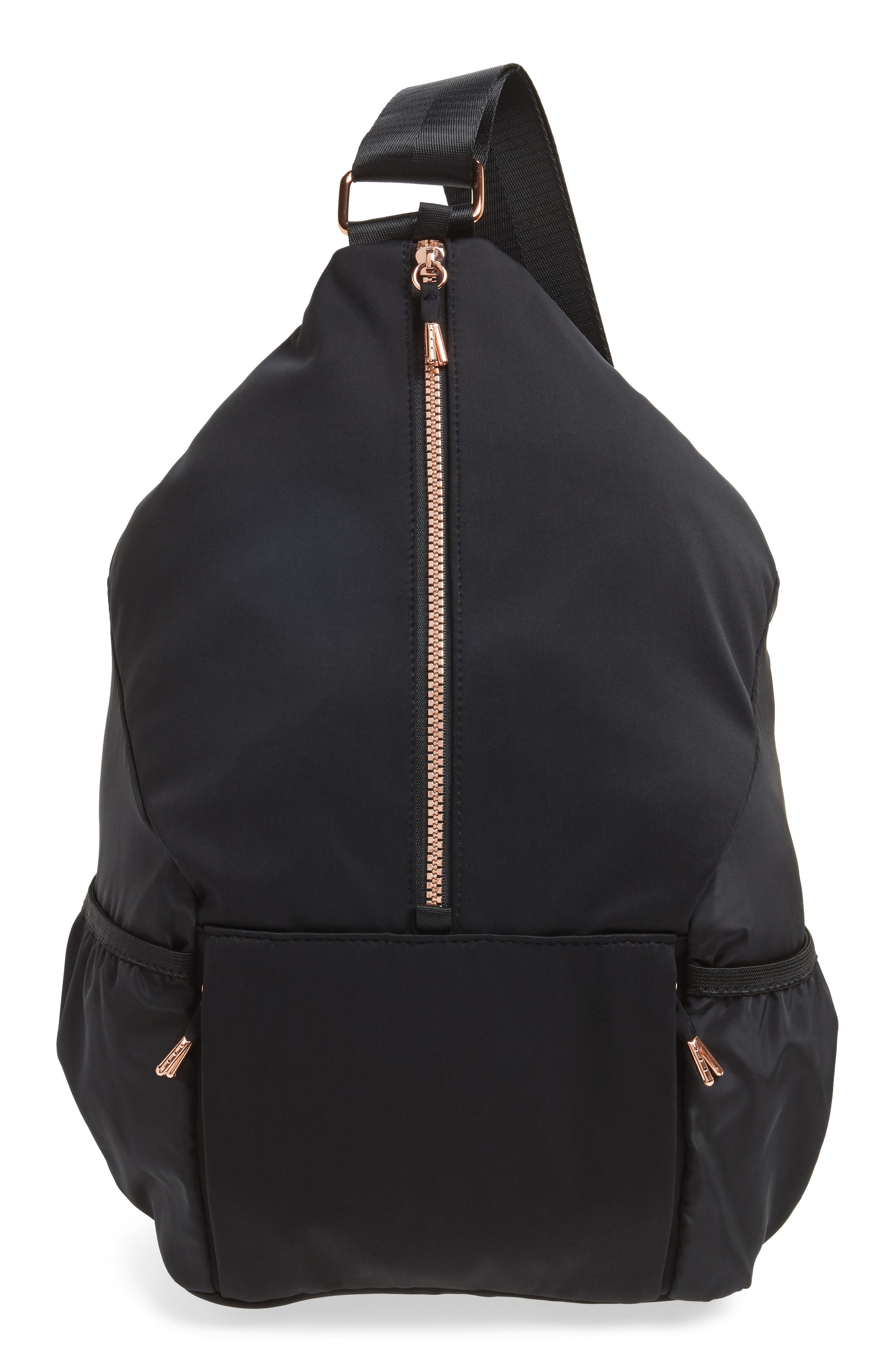 Studio Sling Backpack,                             Main thumbnail 1, color,                             001