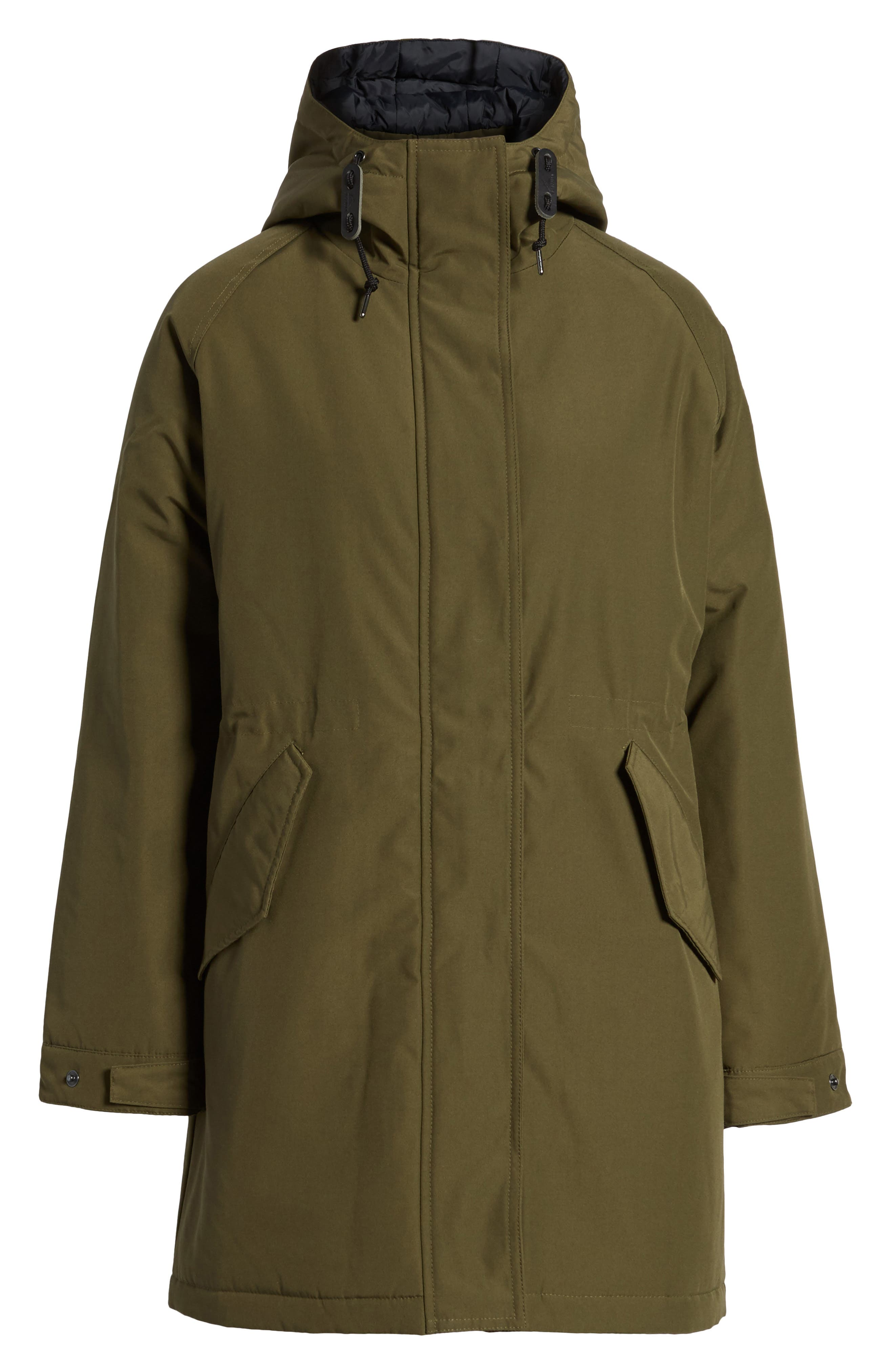 Kingman Hooded Fishtail Parka,                             Alternate thumbnail 5, color,                             307