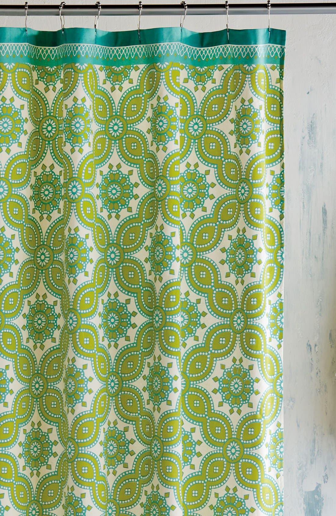 'Petra' Shower Curtain,                             Main thumbnail 1, color,                             300