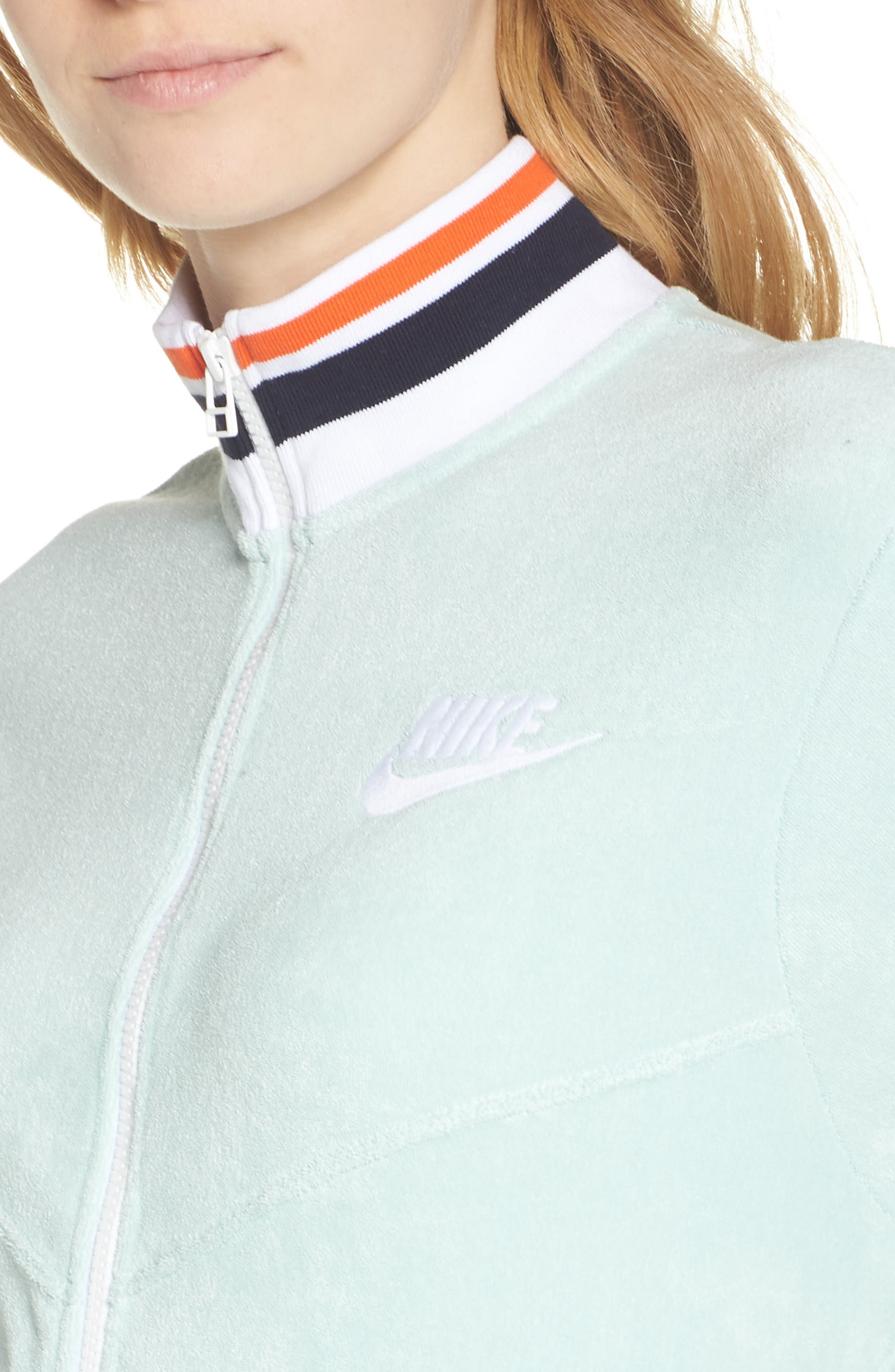 Sportswear French Terry Jacket,                             Alternate thumbnail 16, color,