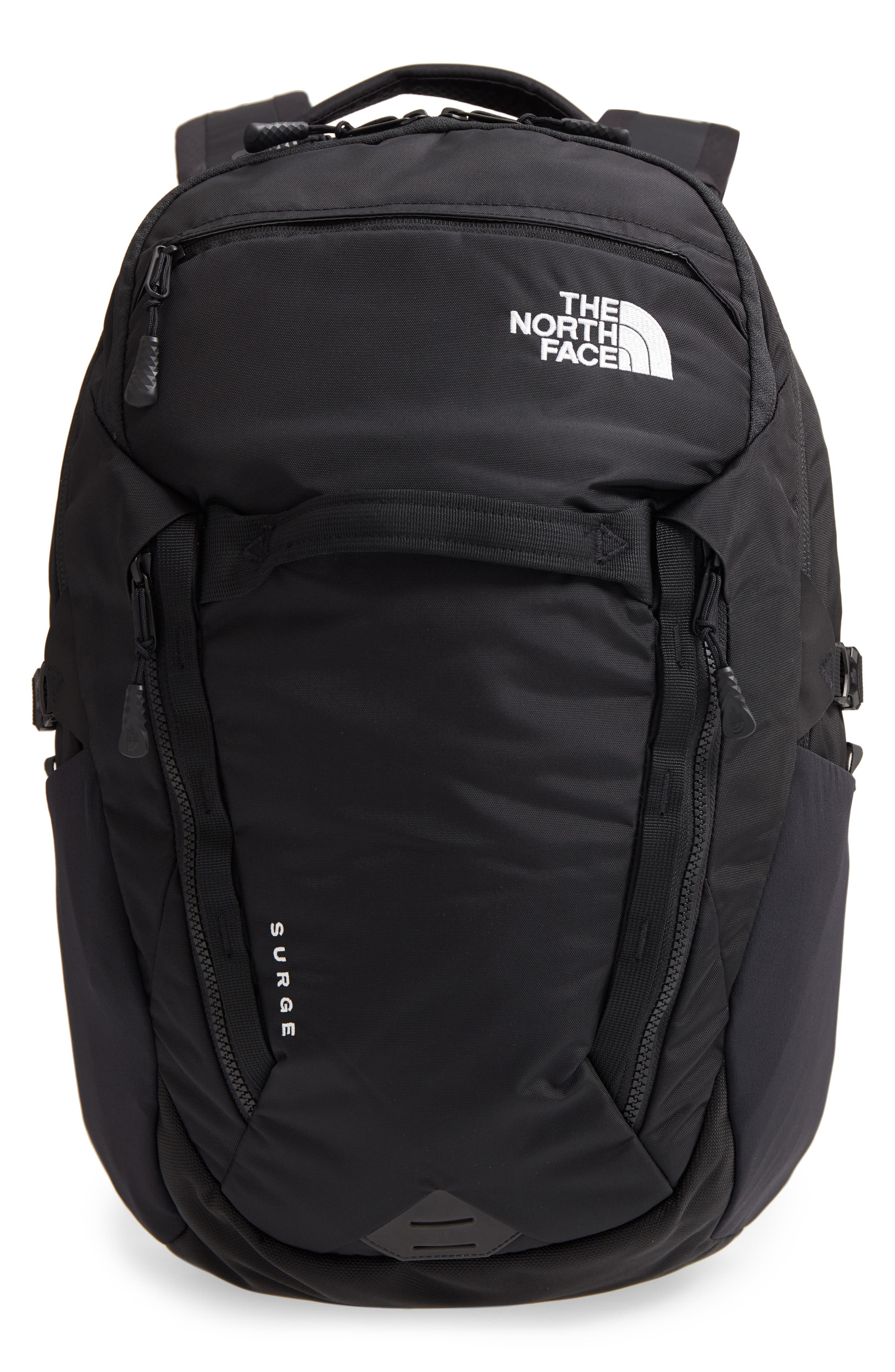 Surge Backpack,                         Main,                         color, TNF BLACK