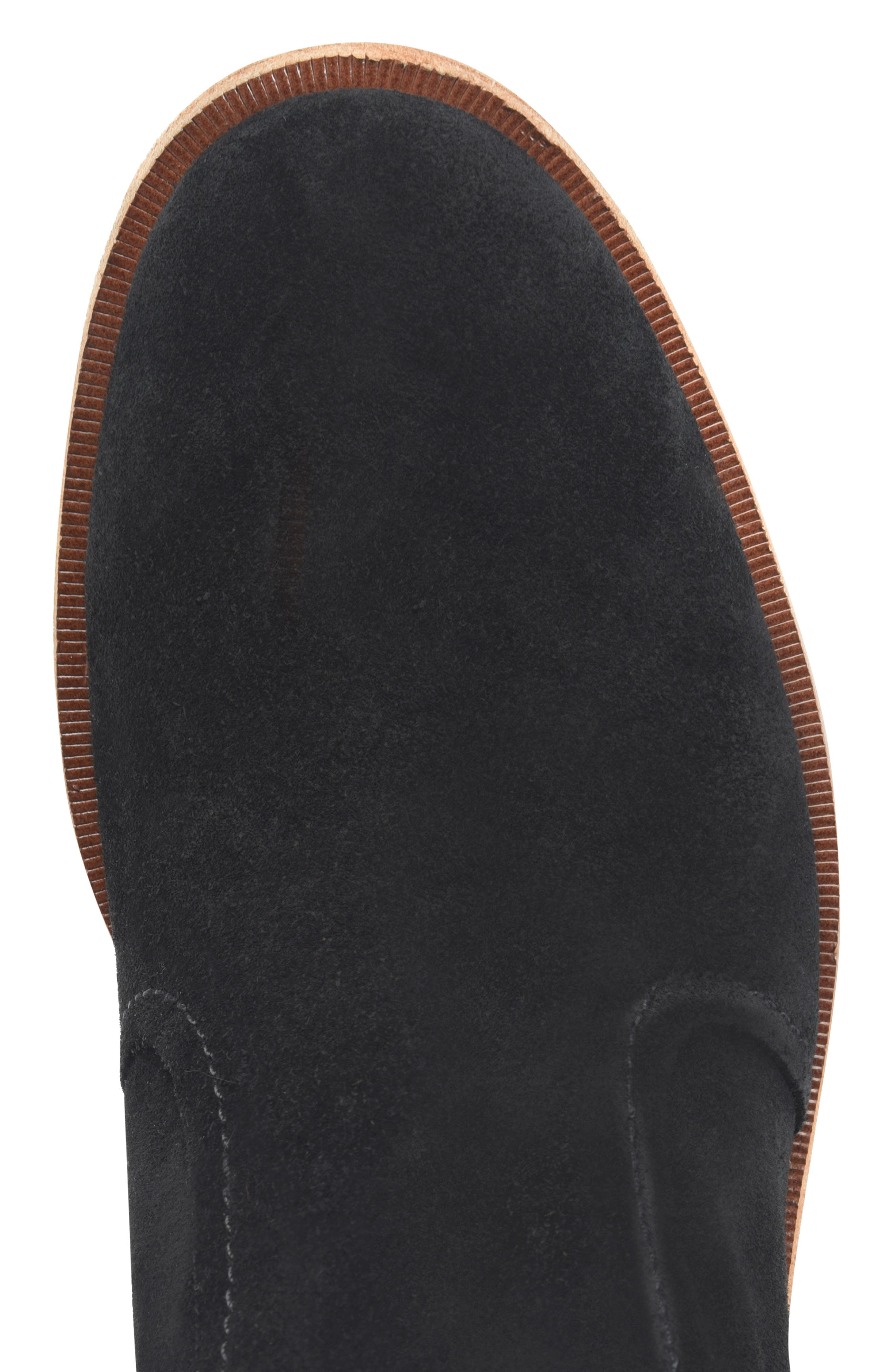 Jewel Boot,                             Alternate thumbnail 3, color,                             BLACK SUEDE