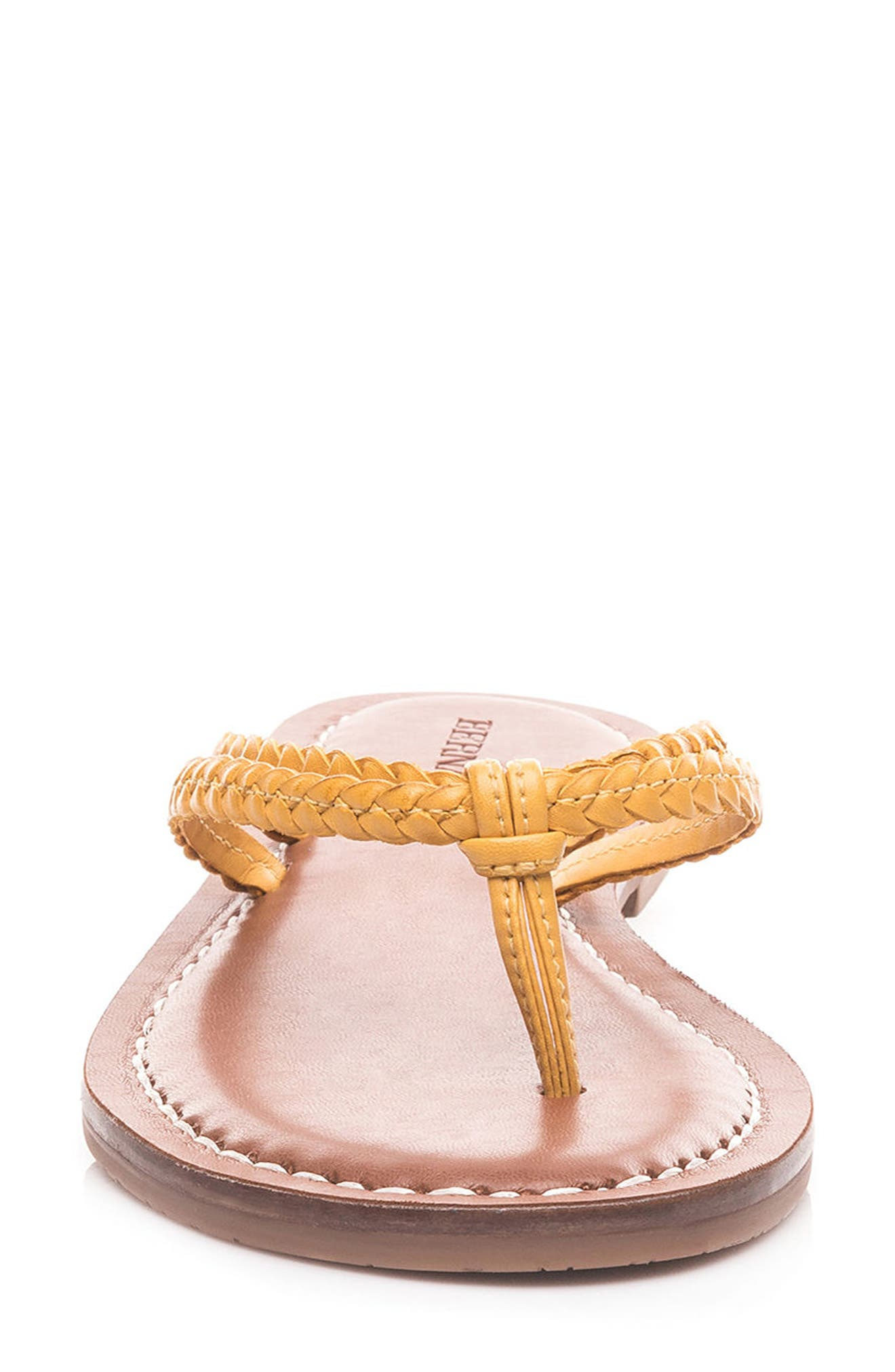Bernardo Greta Braided Strap Sandal,                             Alternate thumbnail 27, color,