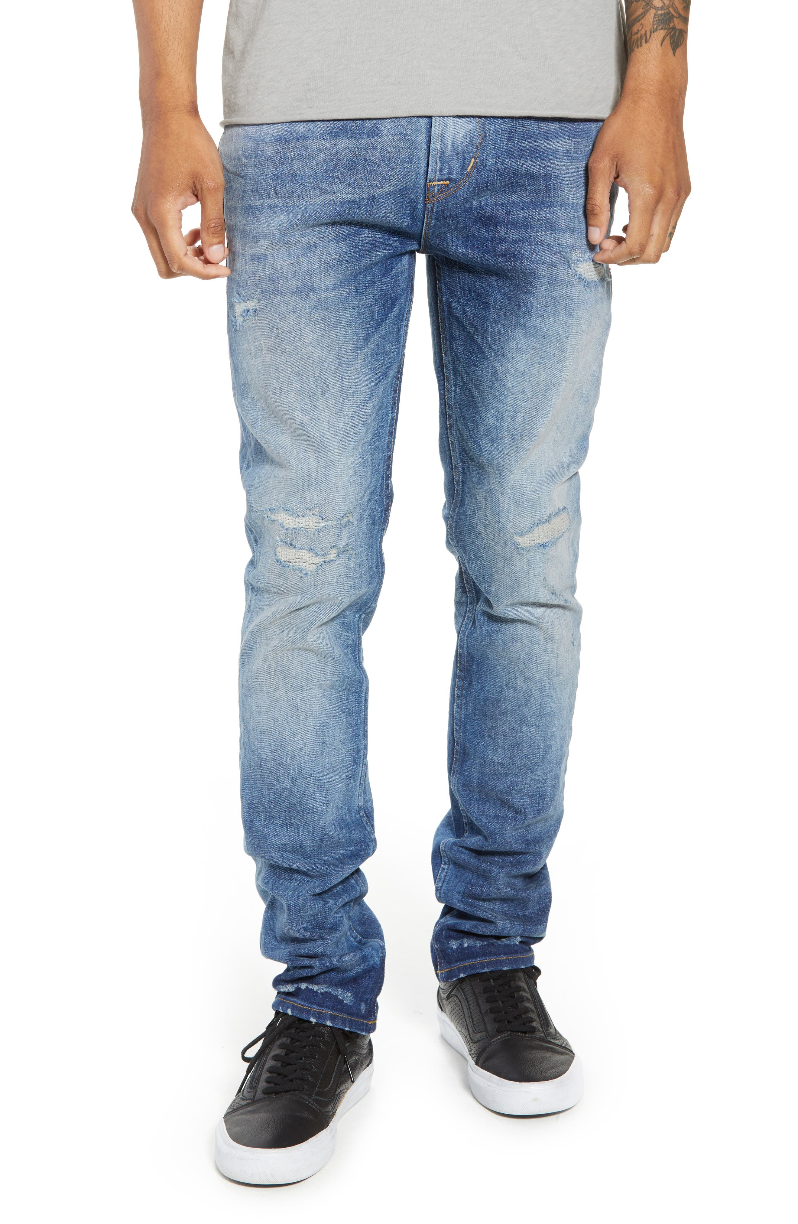 Axl Skinny Fit Jeans,                             Main thumbnail 1, color,                             RIDE OUT