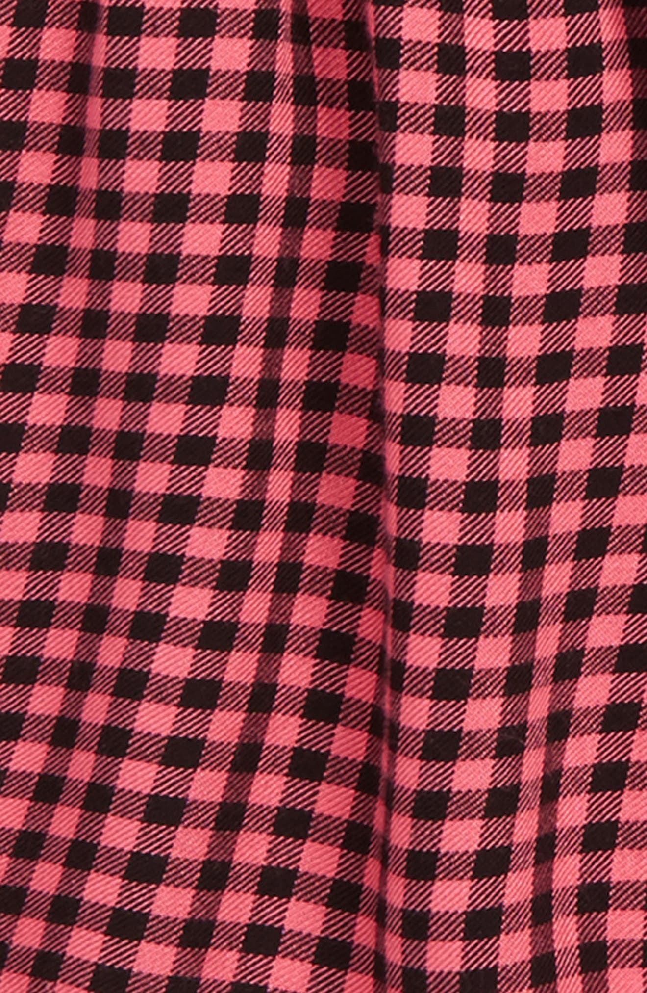 Plaid Dress,                             Alternate thumbnail 2, color,                             600