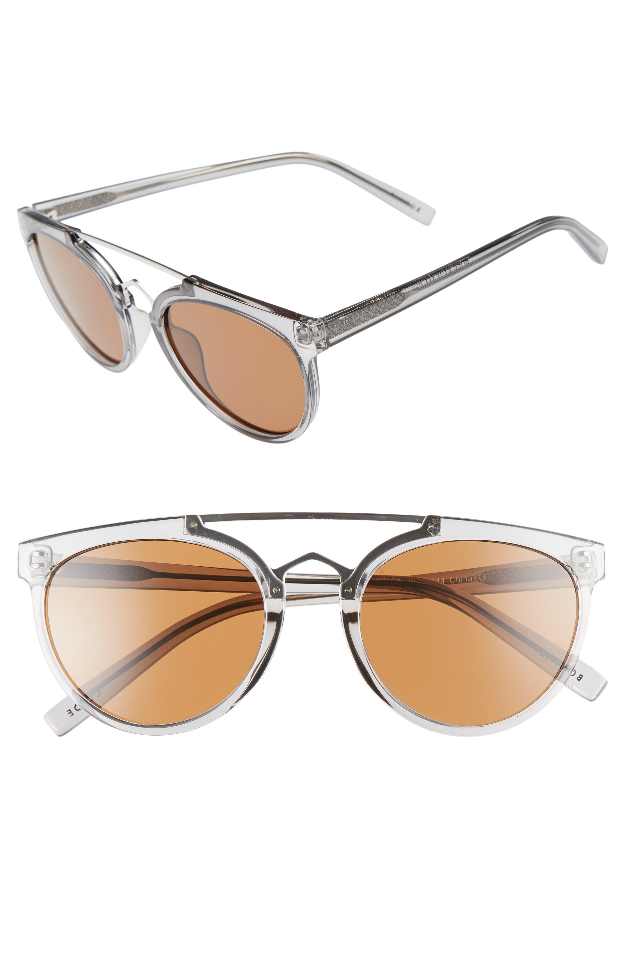 Rose 53mm Retro Sunglasses,                             Main thumbnail 2, color,