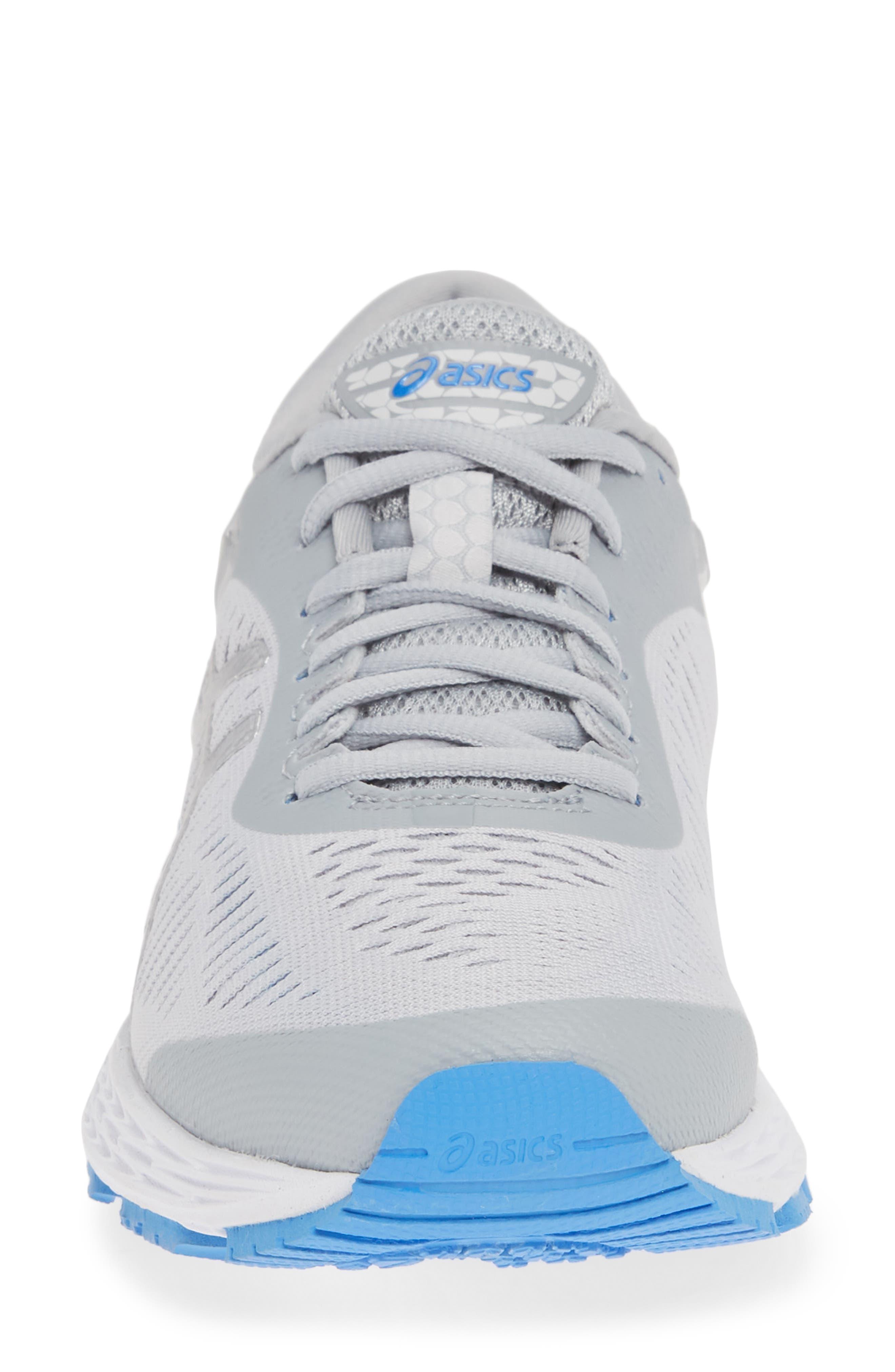 GEL-Kayano<sup>®</sup> 25 Running Shoe,                             Alternate thumbnail 4, color,                             MID GREY/ BLUE
