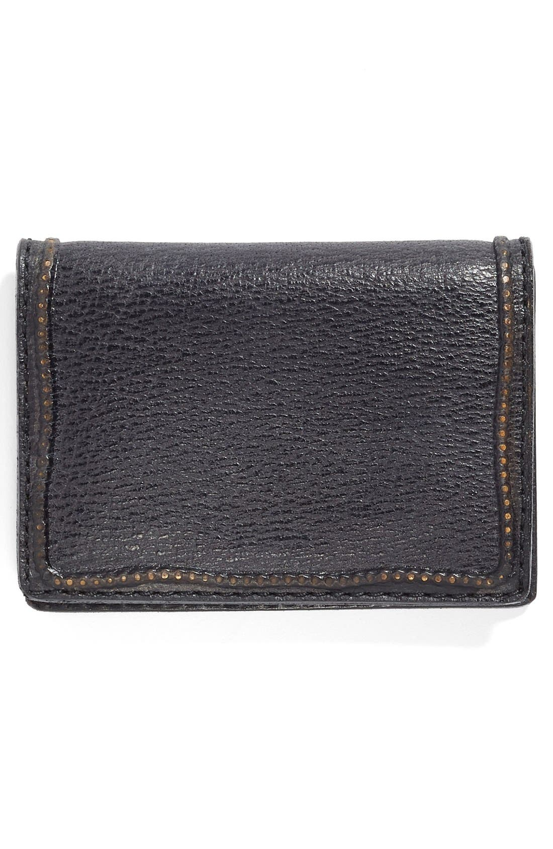 Collection Leather Card Case,                             Alternate thumbnail 2, color,                             001