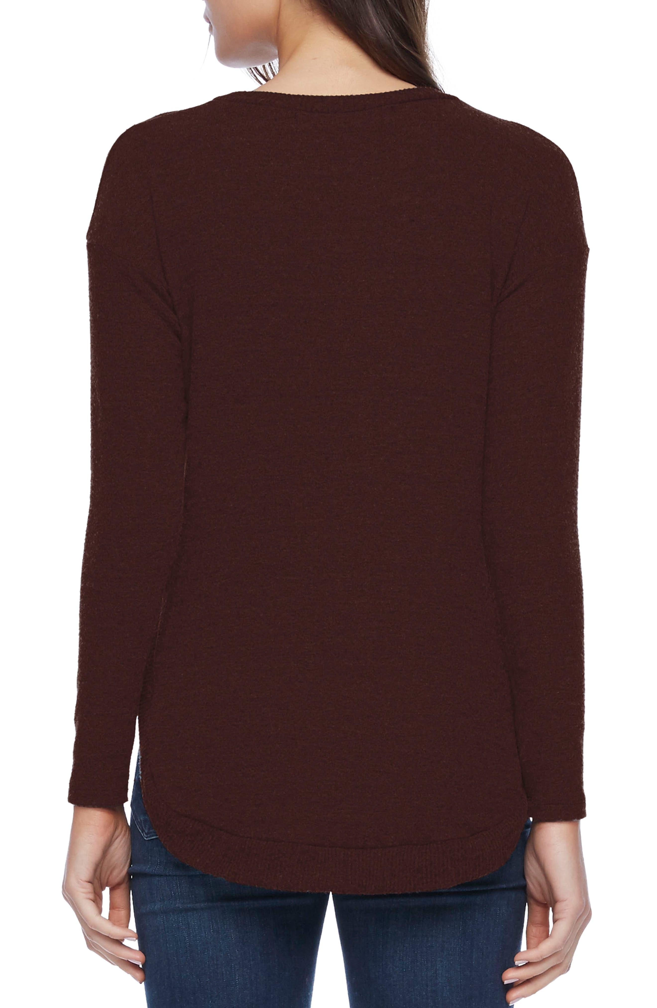 Shirttail Hem Sweater,                             Alternate thumbnail 2, color,                             930