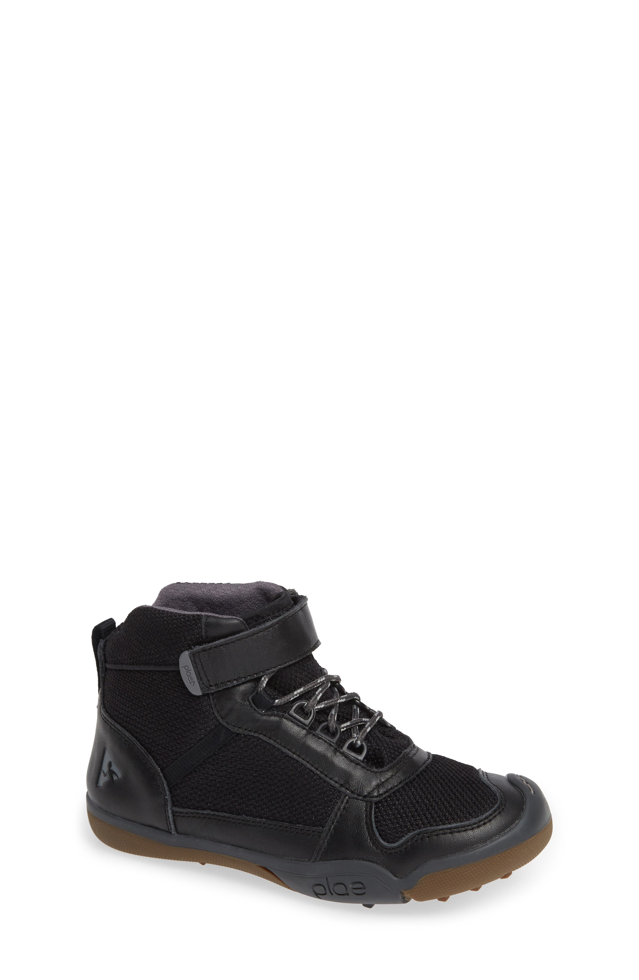 Kaiden Customizable Waterproof Boot,                         Main,                         color, BLACK