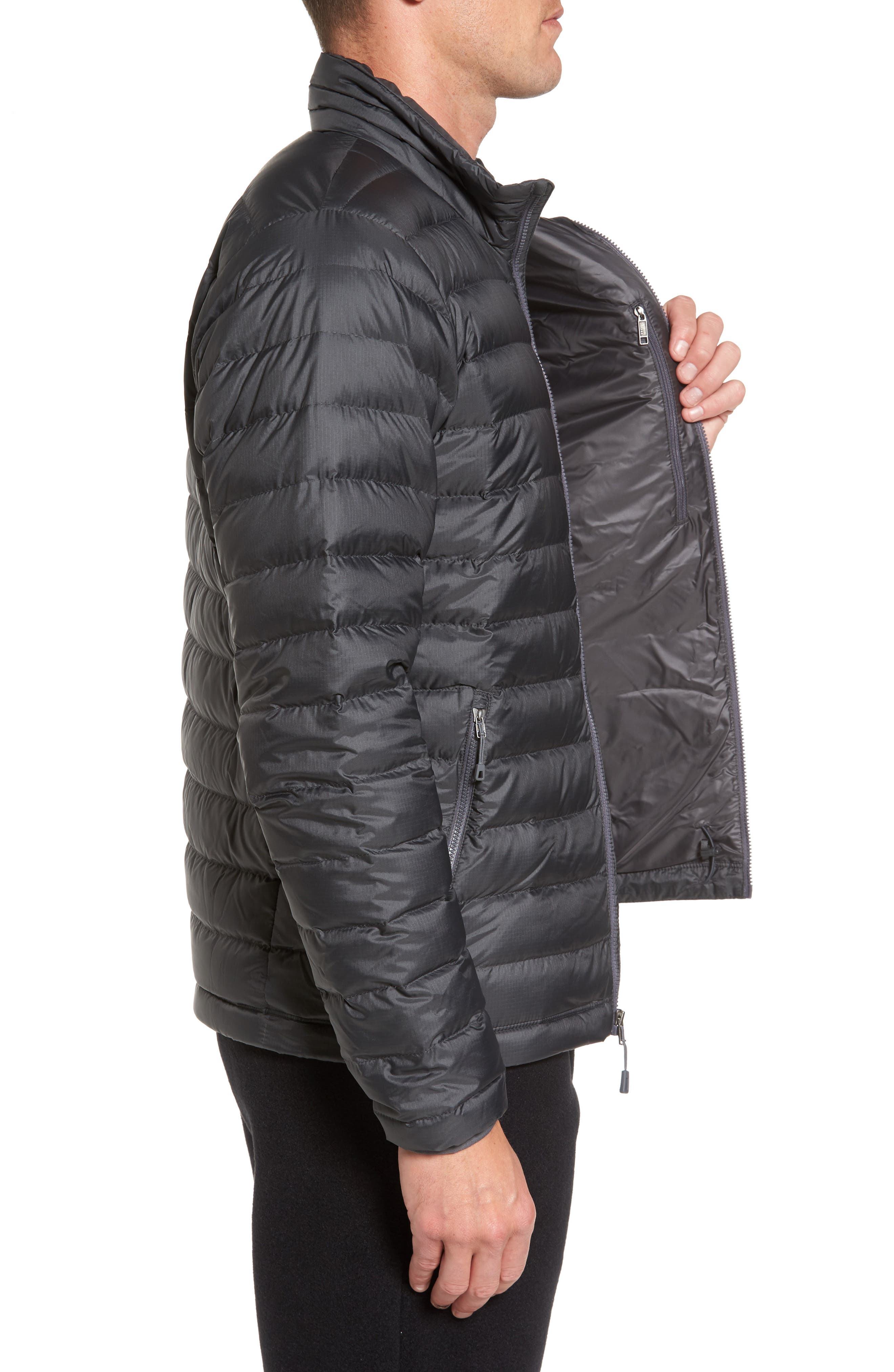 Water Repellent Down Jacket,                             Alternate thumbnail 42, color,