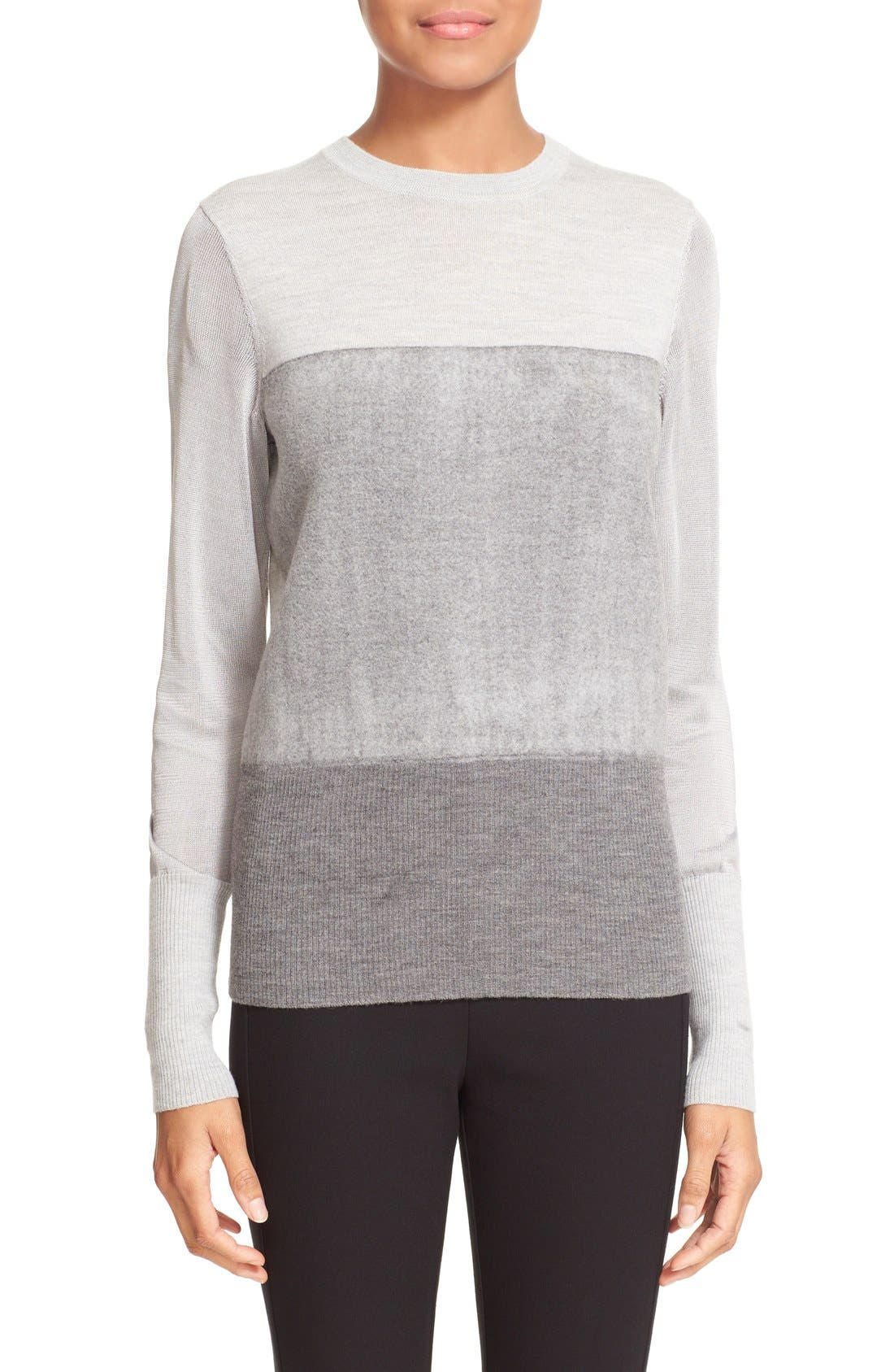 RAG & BONE,                             'Marissa' Merino Wool Crewneck Sweater,                             Main thumbnail 1, color,                             020