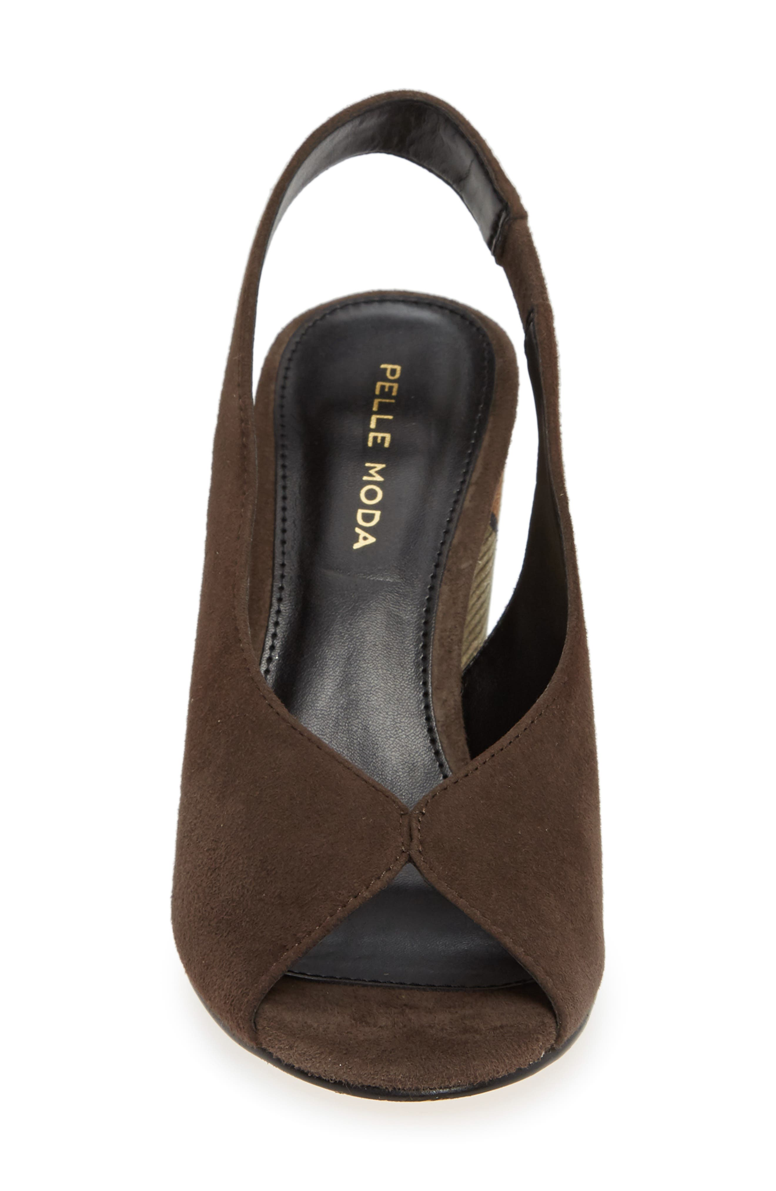 Honor Sandal,                             Alternate thumbnail 4, color,                             MINK SUEDE