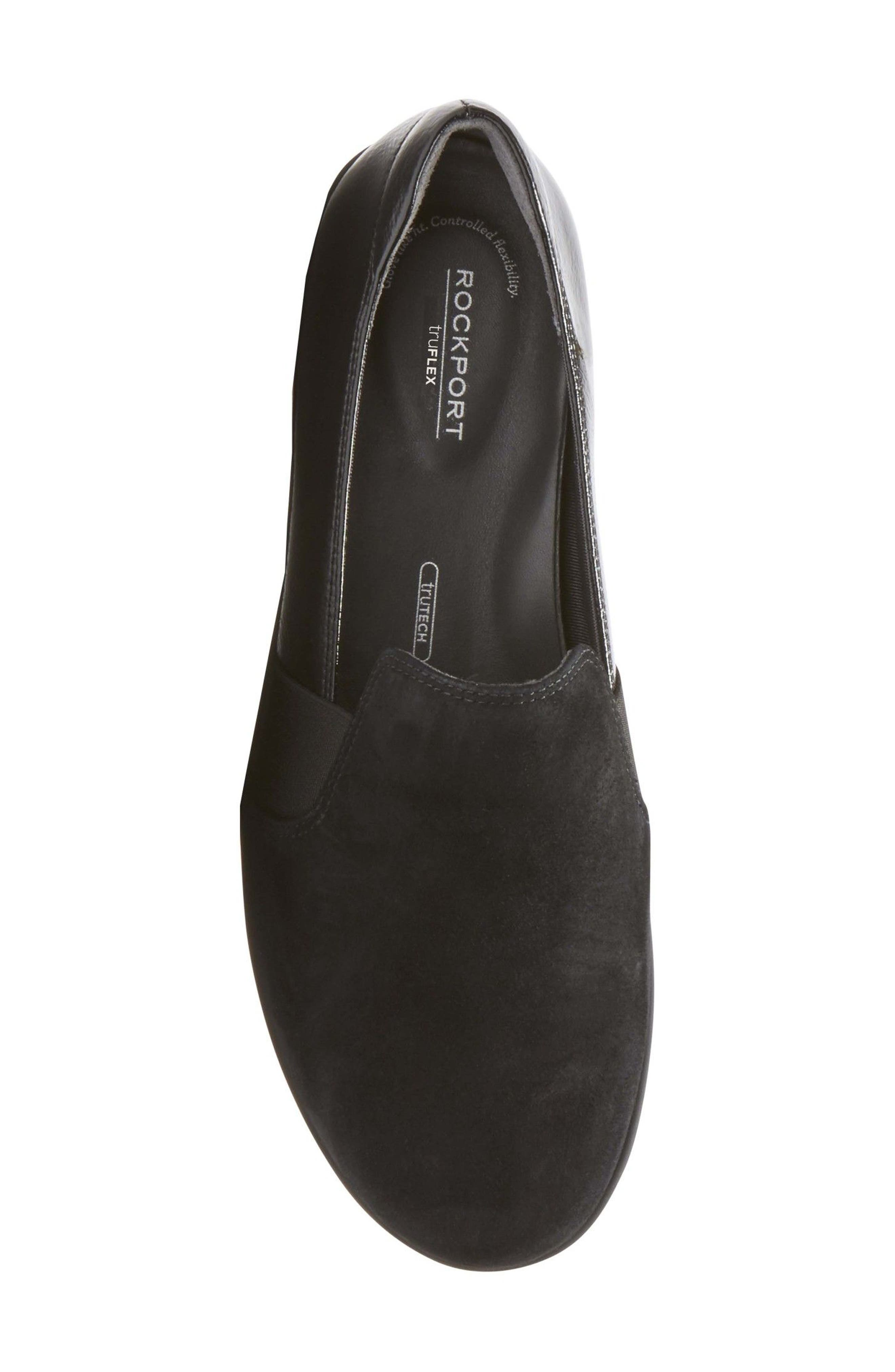 Chenole Loafer,                             Alternate thumbnail 5, color,                             BLACK SUEDE