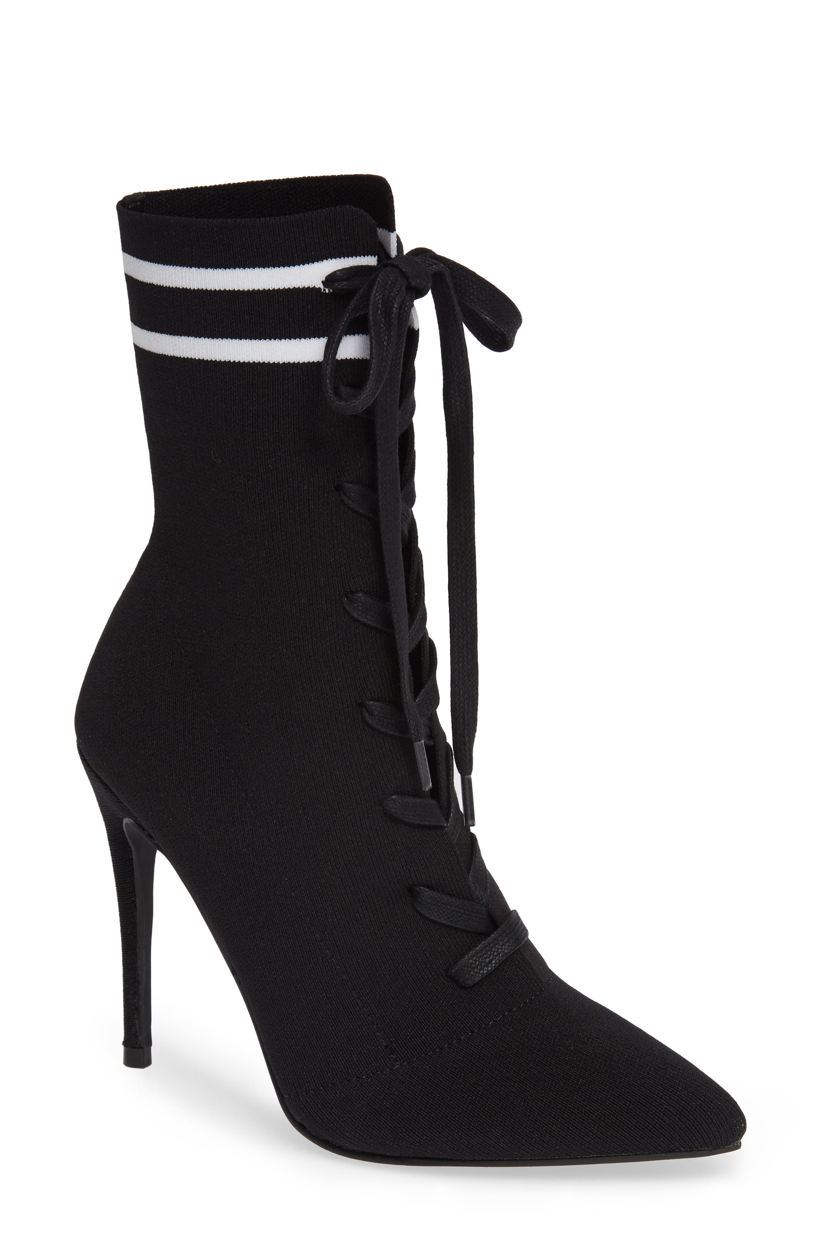 Kennedy Sock Bootie,                         Main,                         color, 015
