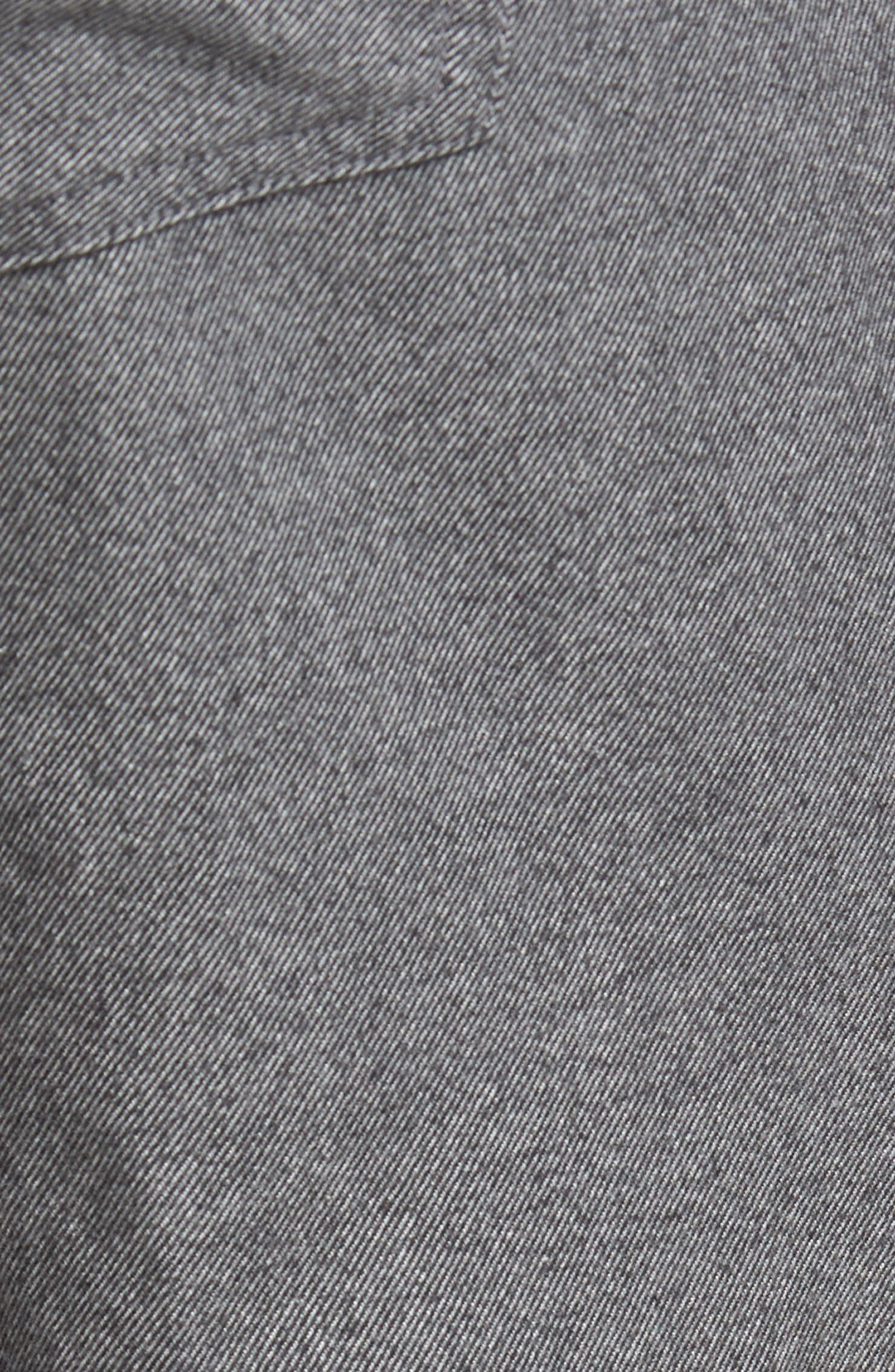 Mountainside Flannel Five-Pocket Pants,                             Alternate thumbnail 5, color,                             033