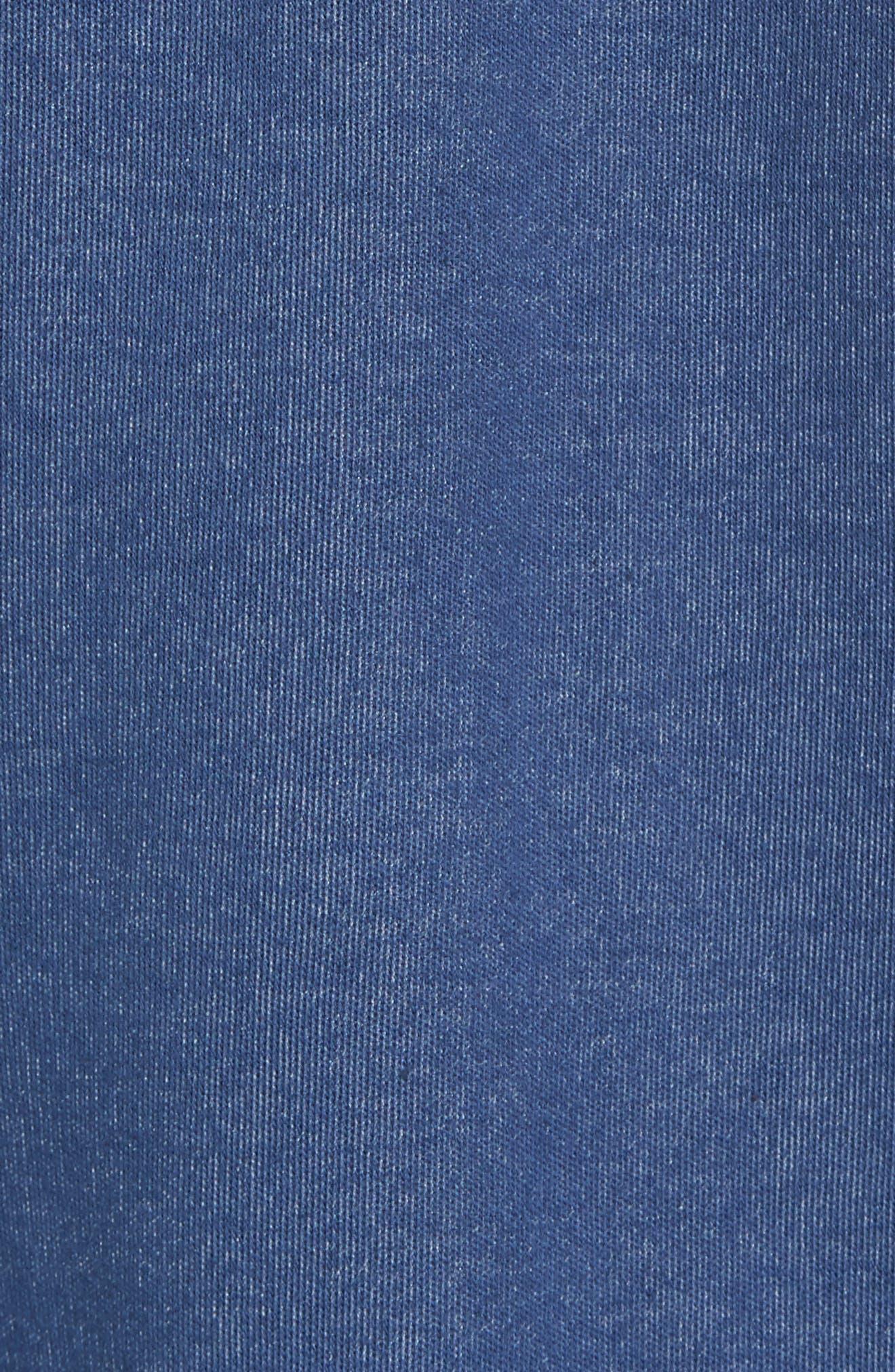 Upper Deck Half Zip Pullover,                             Alternate thumbnail 5, color,                             410