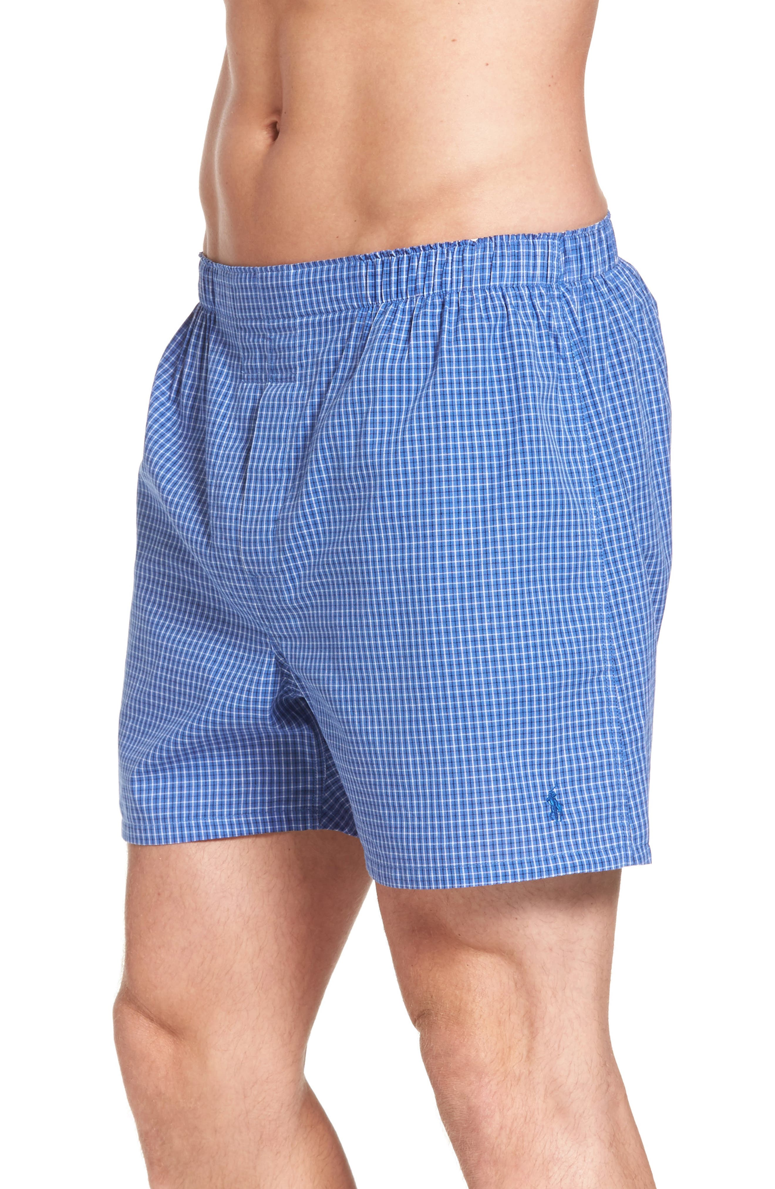 Assorted 3-Pack Woven Cotton Boxers,                             Alternate thumbnail 23, color,