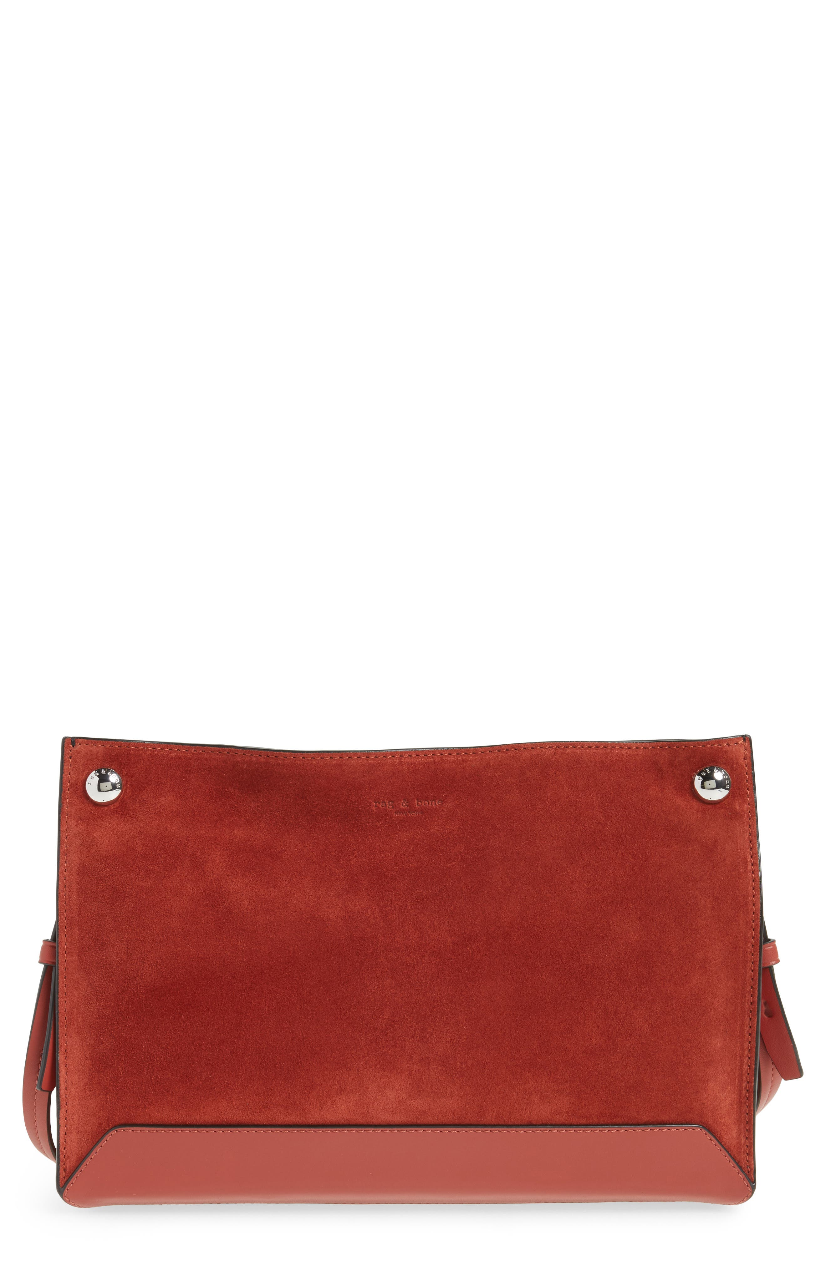 Compass Suede Crossbody Bag,                             Main thumbnail 1, color,                             629