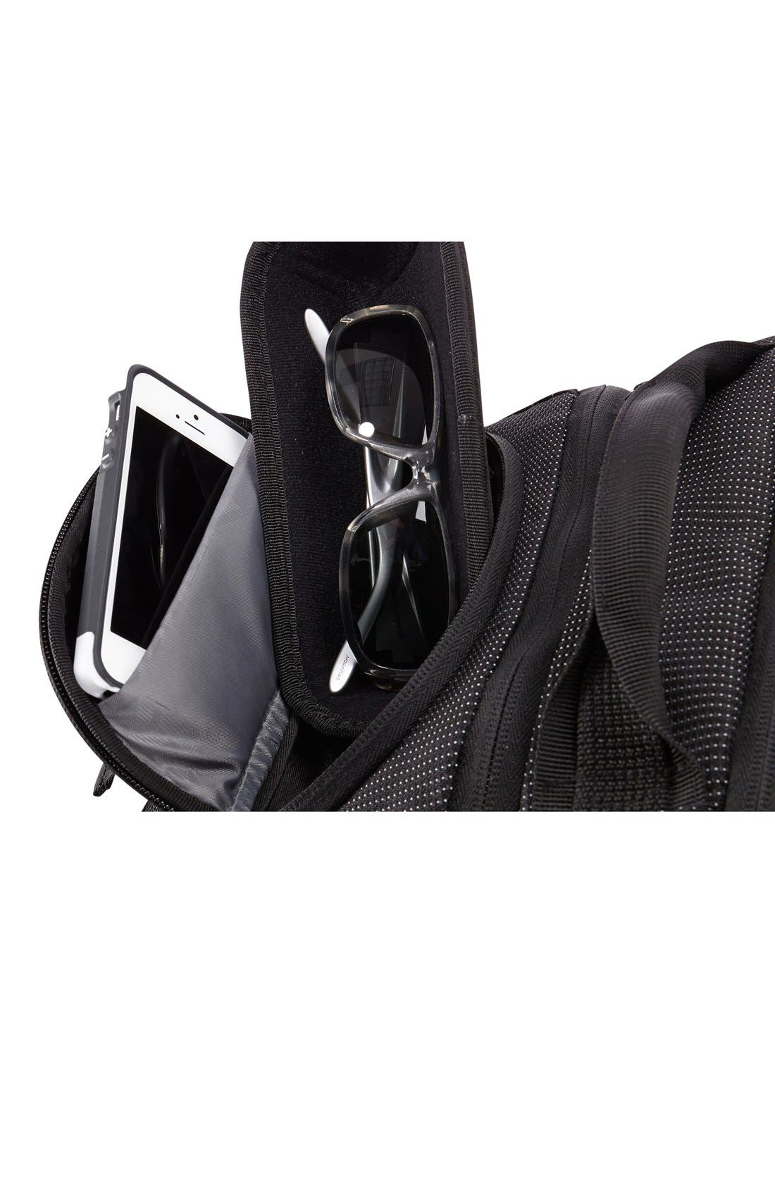 Crossover 32-Liter Backpack,                             Alternate thumbnail 4, color,                             BLACK