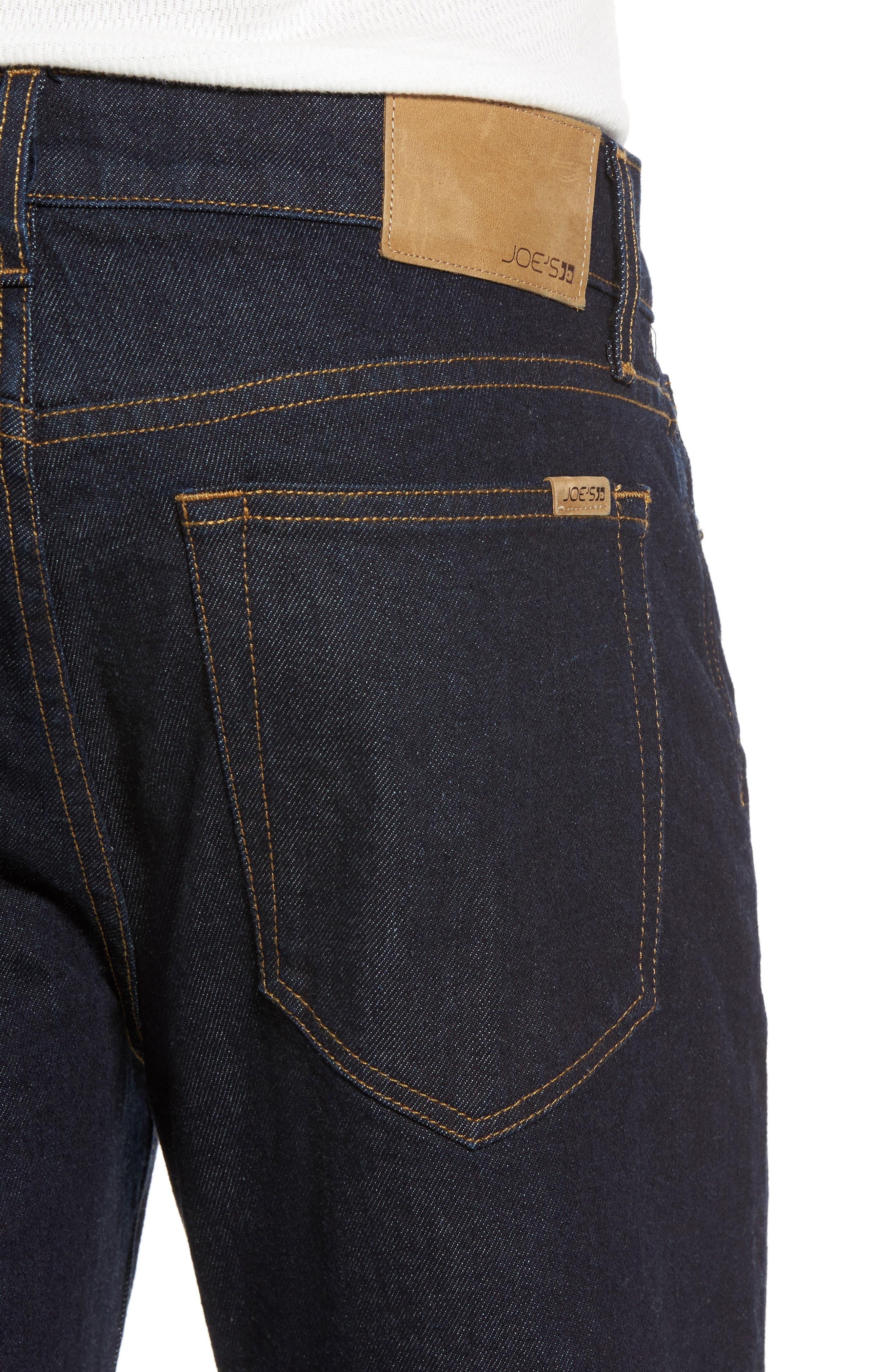 Brixton Slim Straight Leg Jeans,                             Alternate thumbnail 4, color,                             400