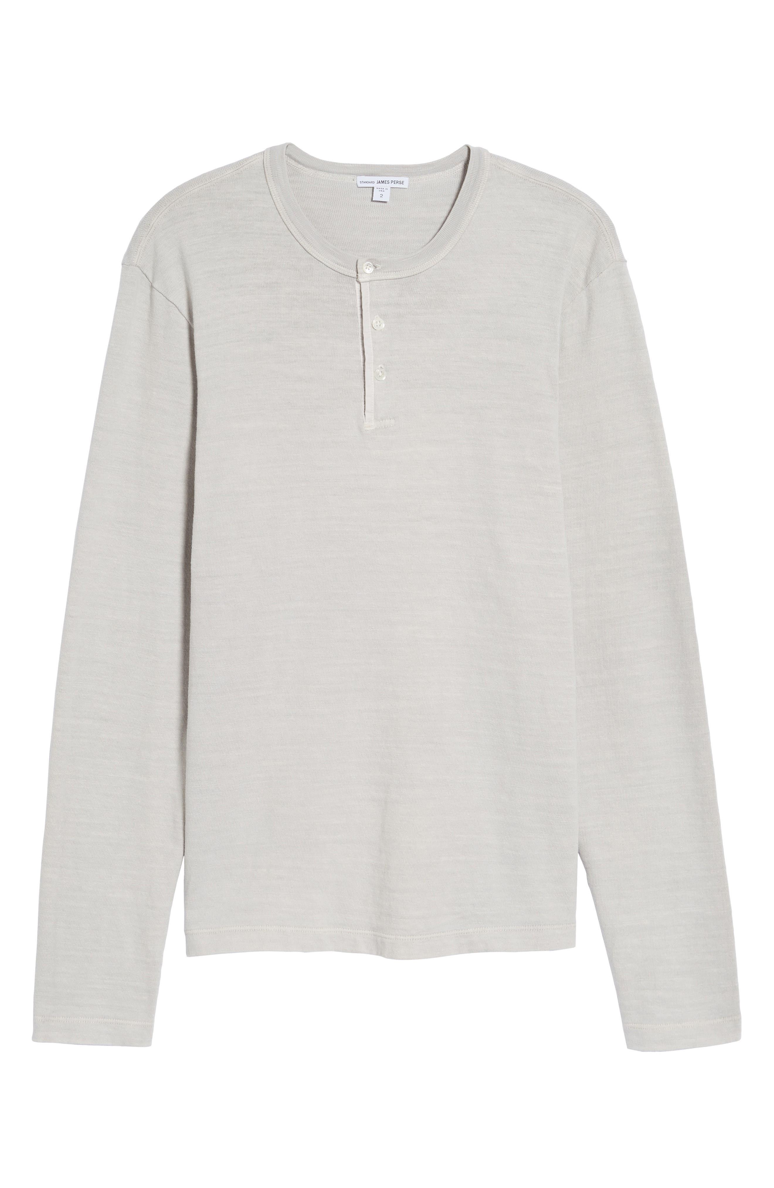 Long Sleeve Henley T-Shirt,                             Alternate thumbnail 16, color,