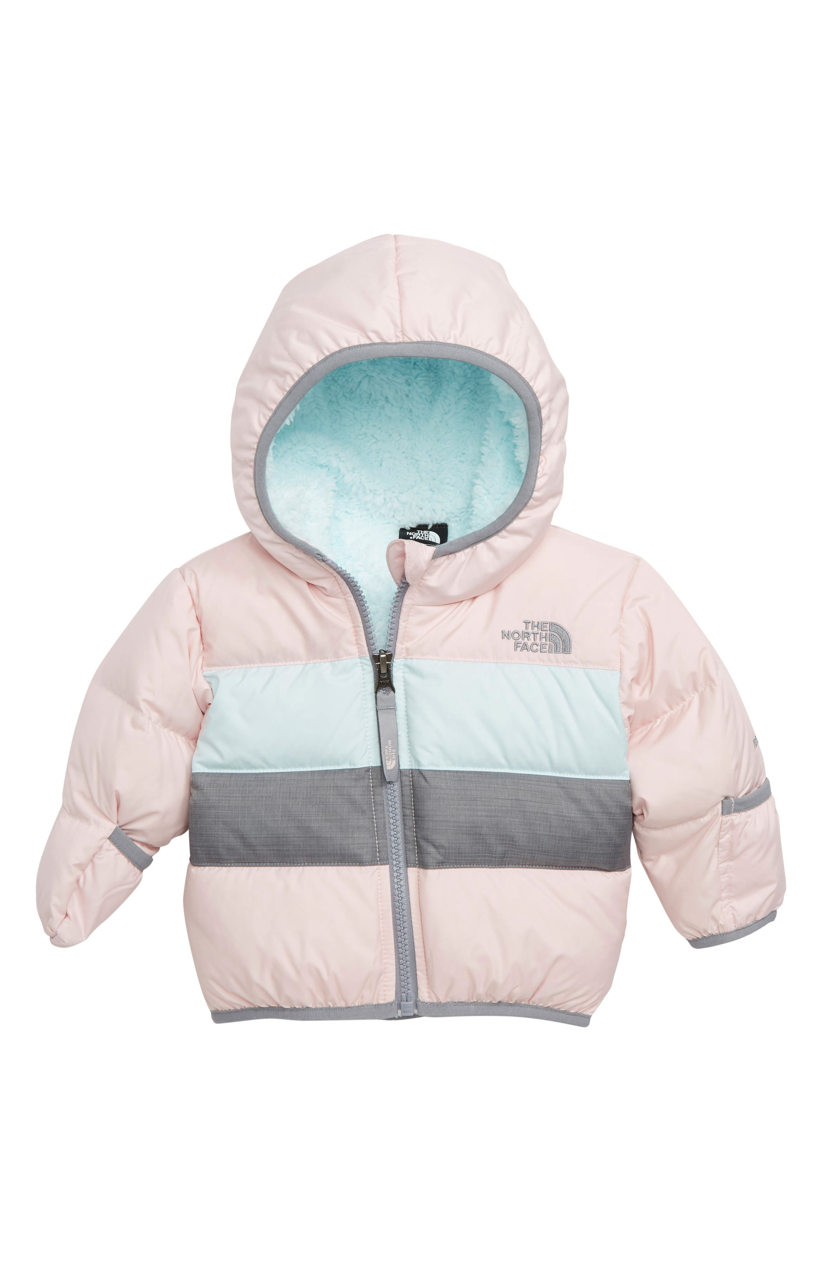 Moondoggy 2.0 Water Repellent Down Jacket,                             Main thumbnail 1, color,                             PURDY PINK