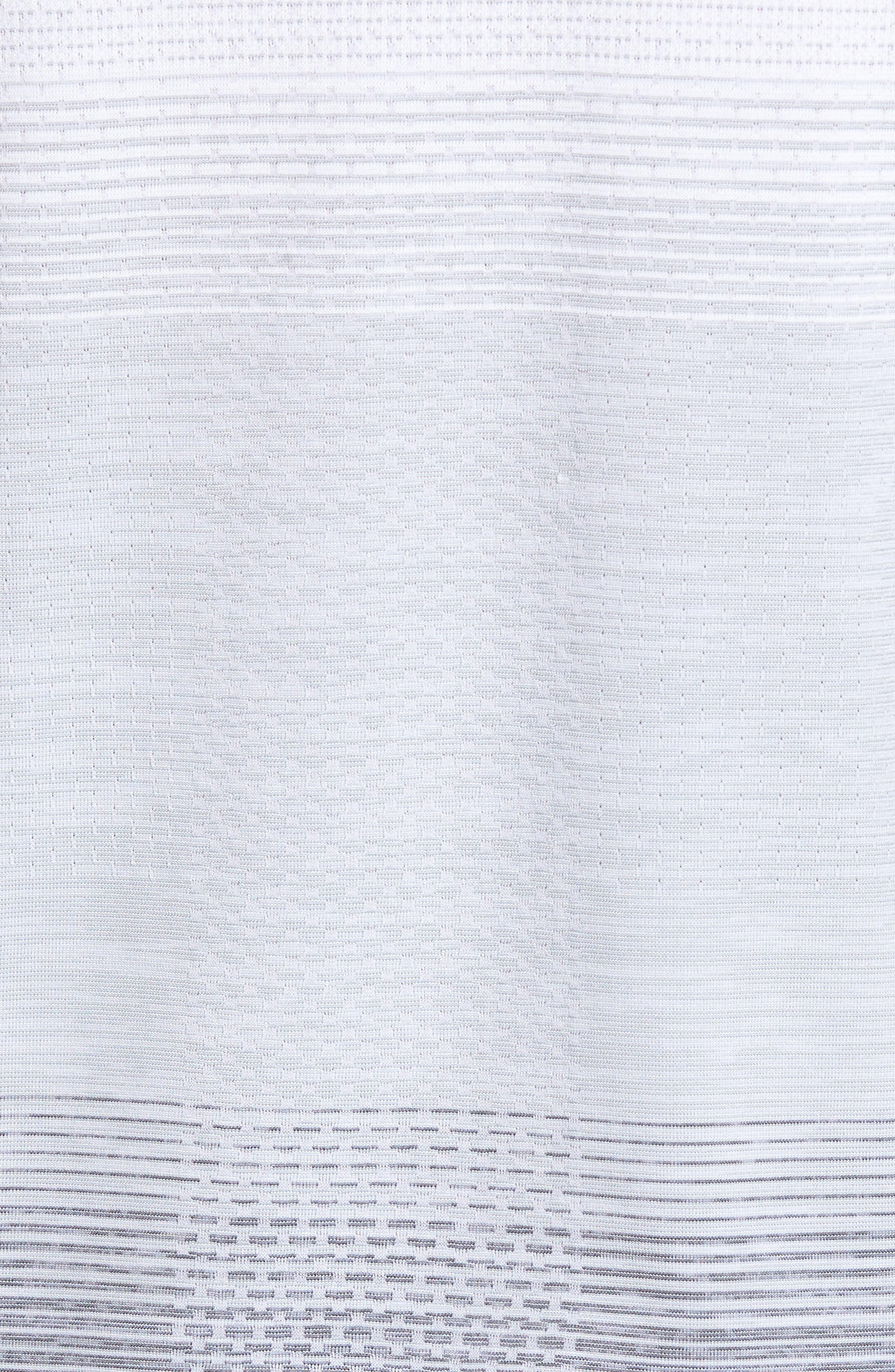 Dry Running Mock Neck Long Sleeve T-Shirt,                             Alternate thumbnail 5, color,                             053