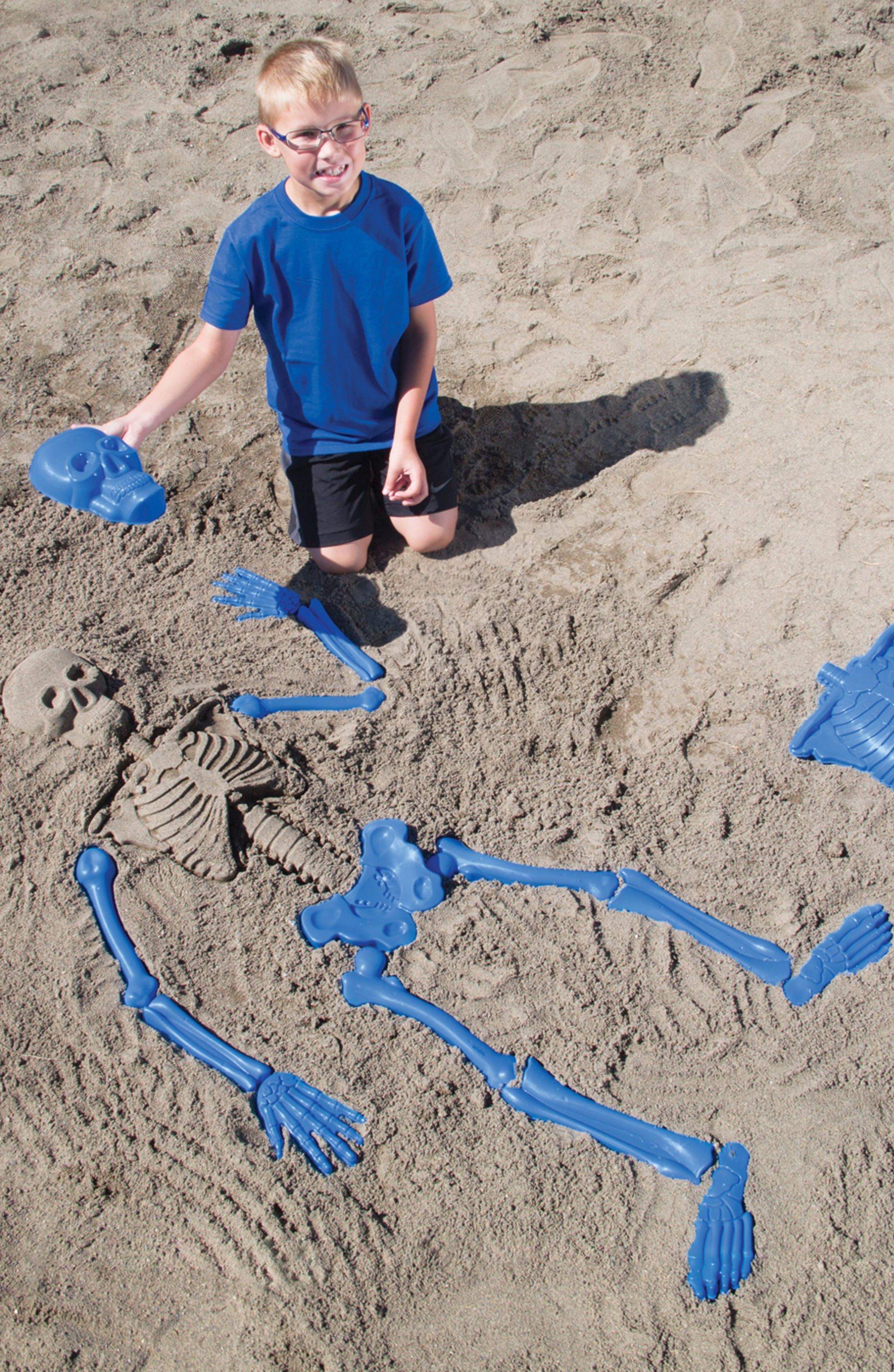Bag O' Beach Bones Beach Toy Kit,                             Alternate thumbnail 3, color,                             400