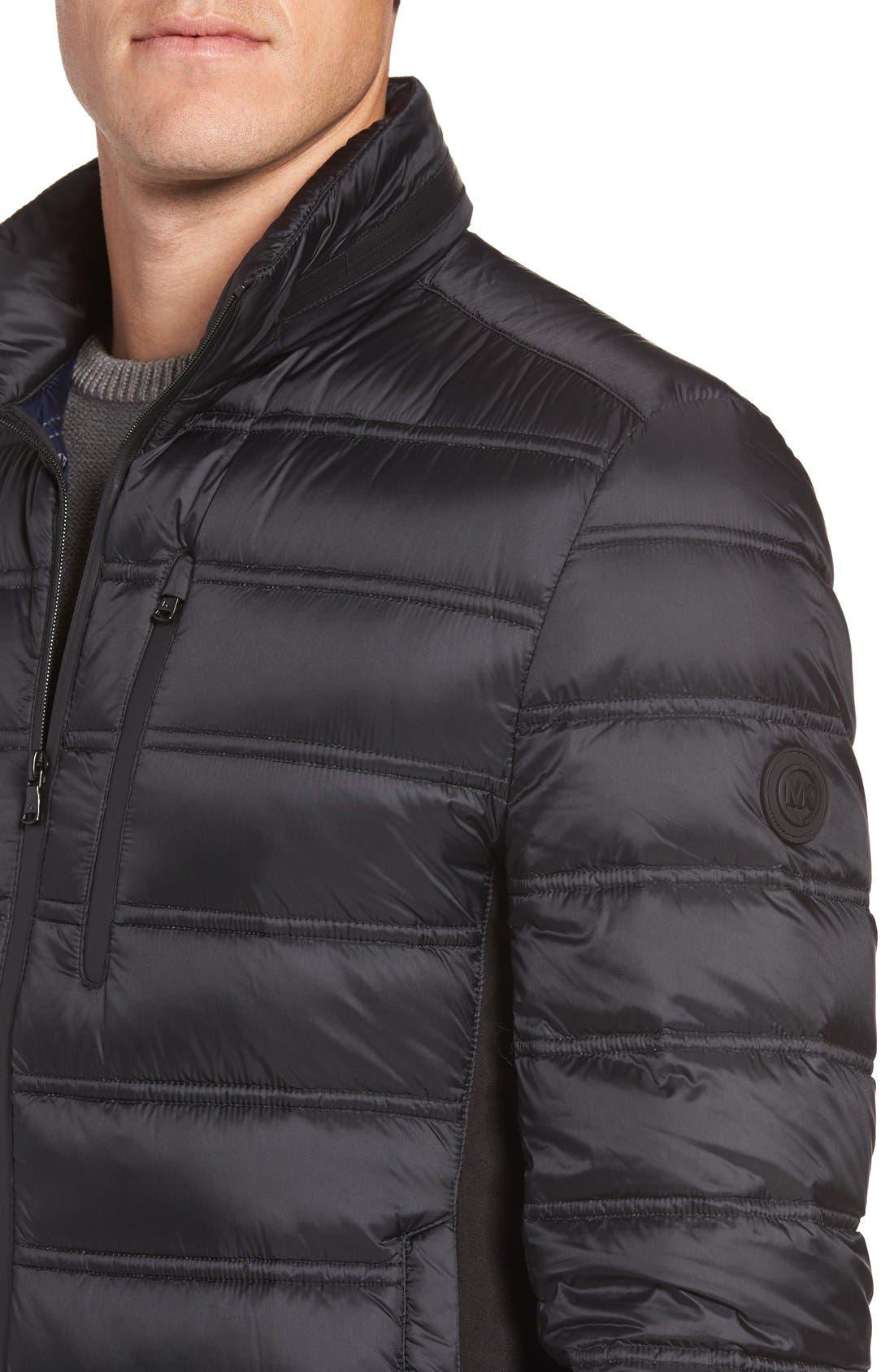 Nylon Down Fill Jacket,                             Alternate thumbnail 4, color,                             001