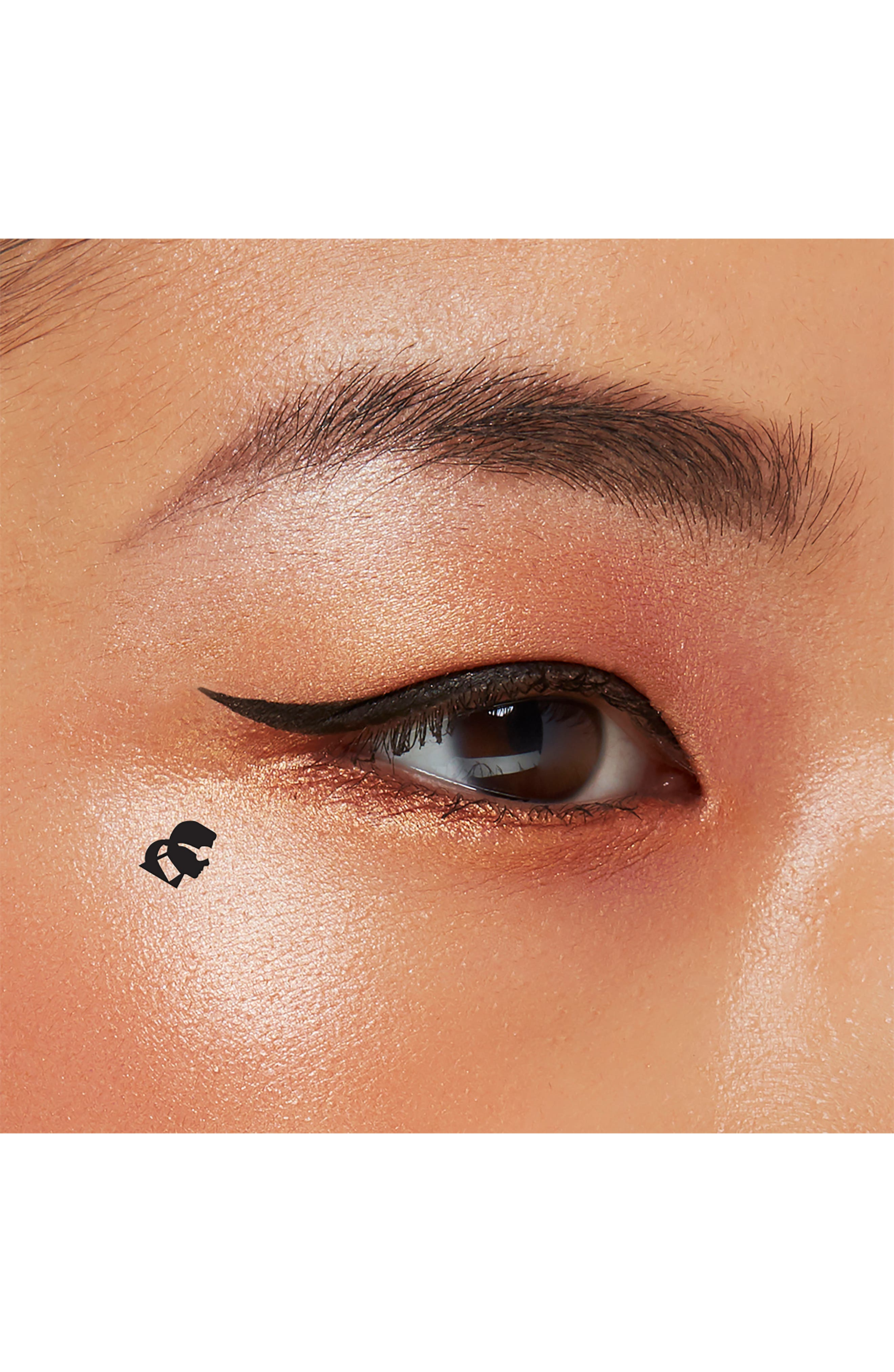 KARL LAGERFELD + MODELCO Kiss Me Karl Liquid Liner and Beauty Stamp,                             Alternate thumbnail 7, color,                             CHOUPETTE