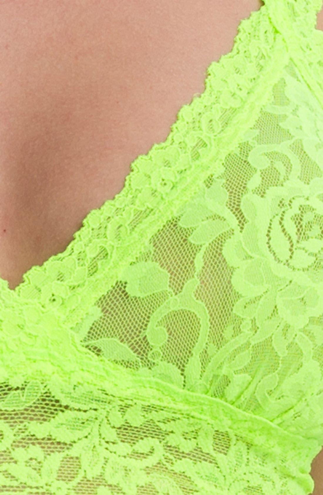 'Signature Lace' Bralette,                             Alternate thumbnail 83, color,
