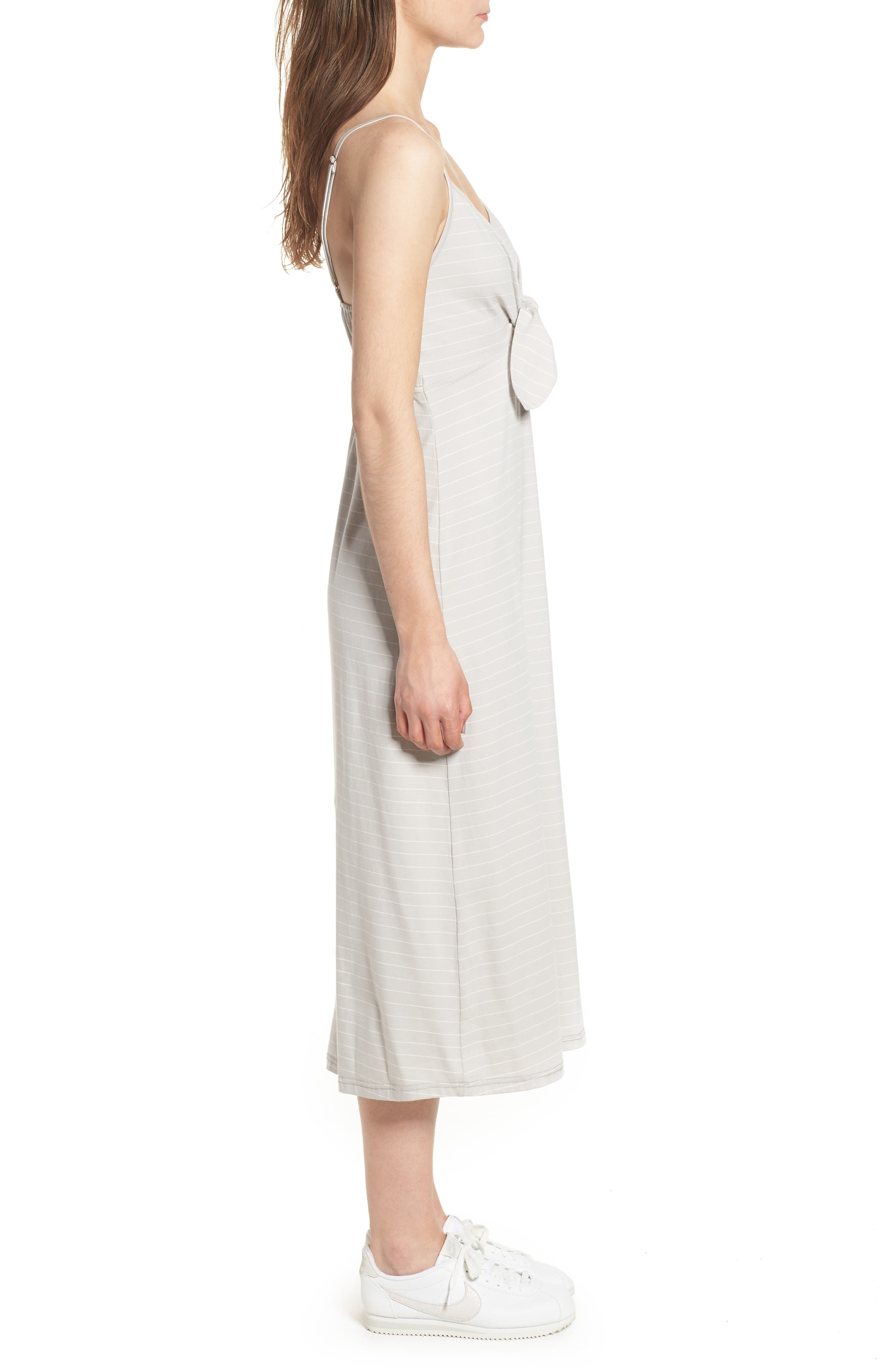 Suzanne Knot Front Dress,                             Alternate thumbnail 8, color,
