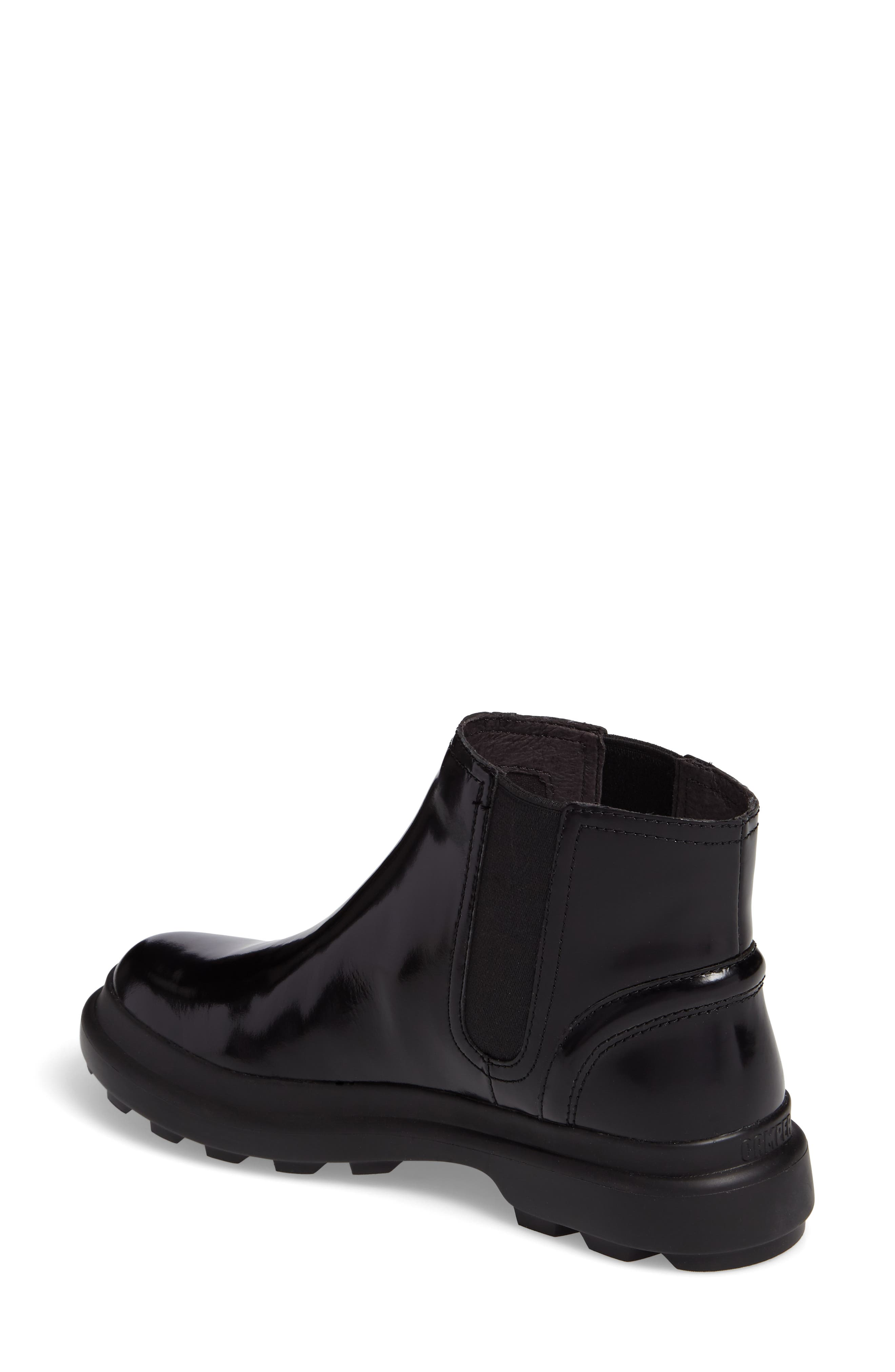 Turtle Lugged Chelsea Boot,                             Alternate thumbnail 2, color,                             001
