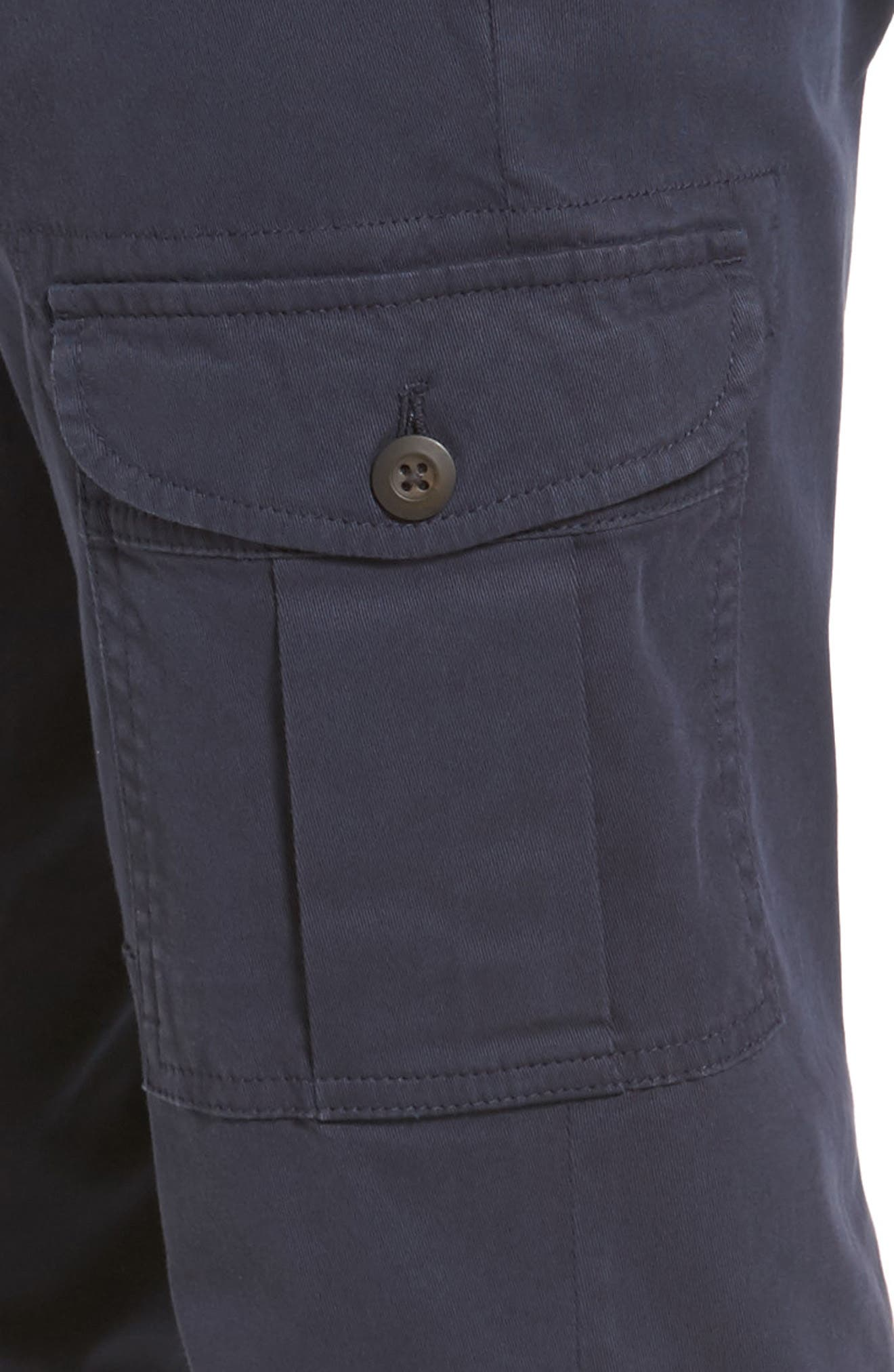 Stretch Twill Cargo Pants,                             Alternate thumbnail 12, color,