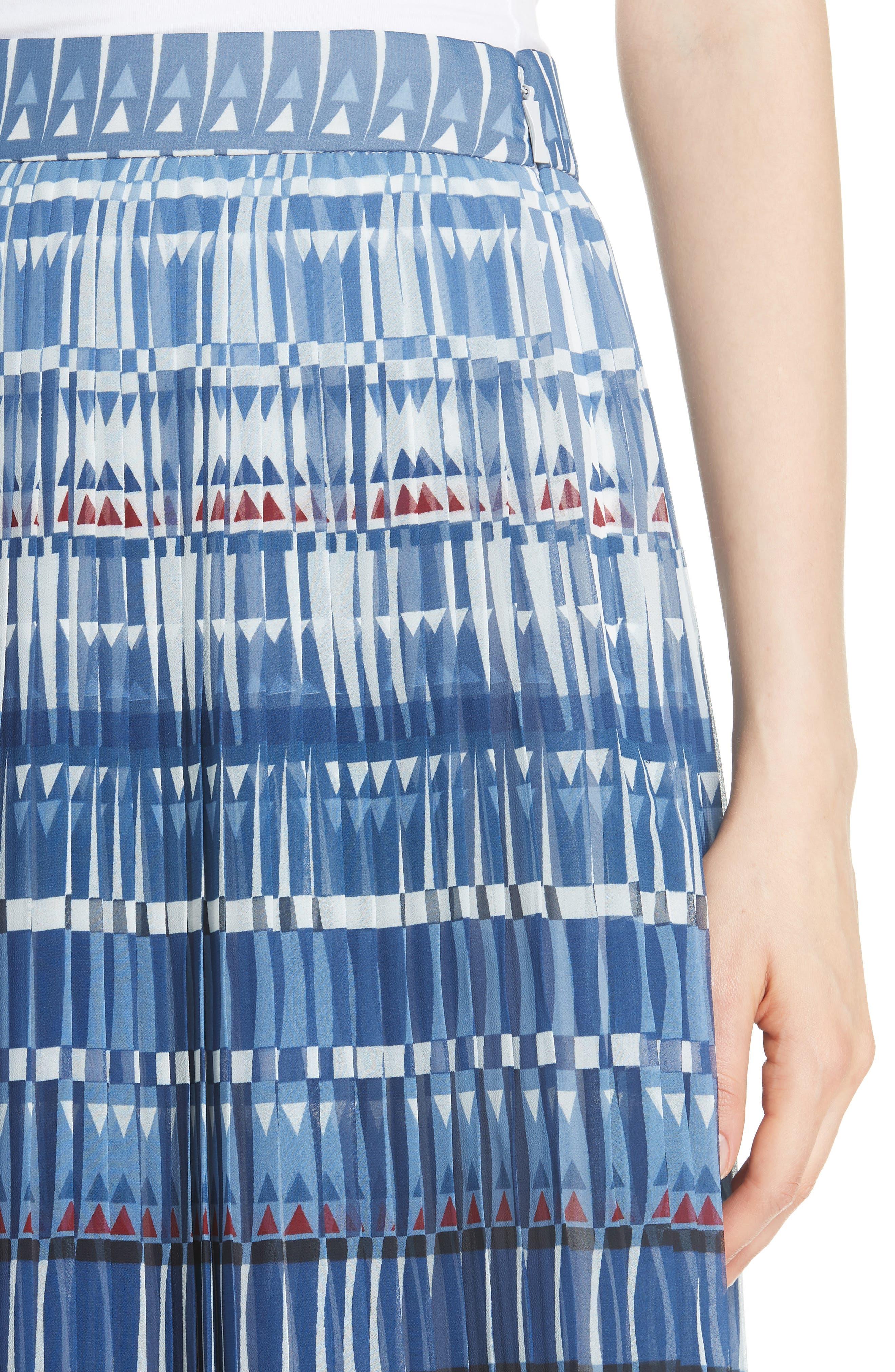 KATE SPADE NEW YORK,                             deco beale skirt,                             Alternate thumbnail 4, color,                             473