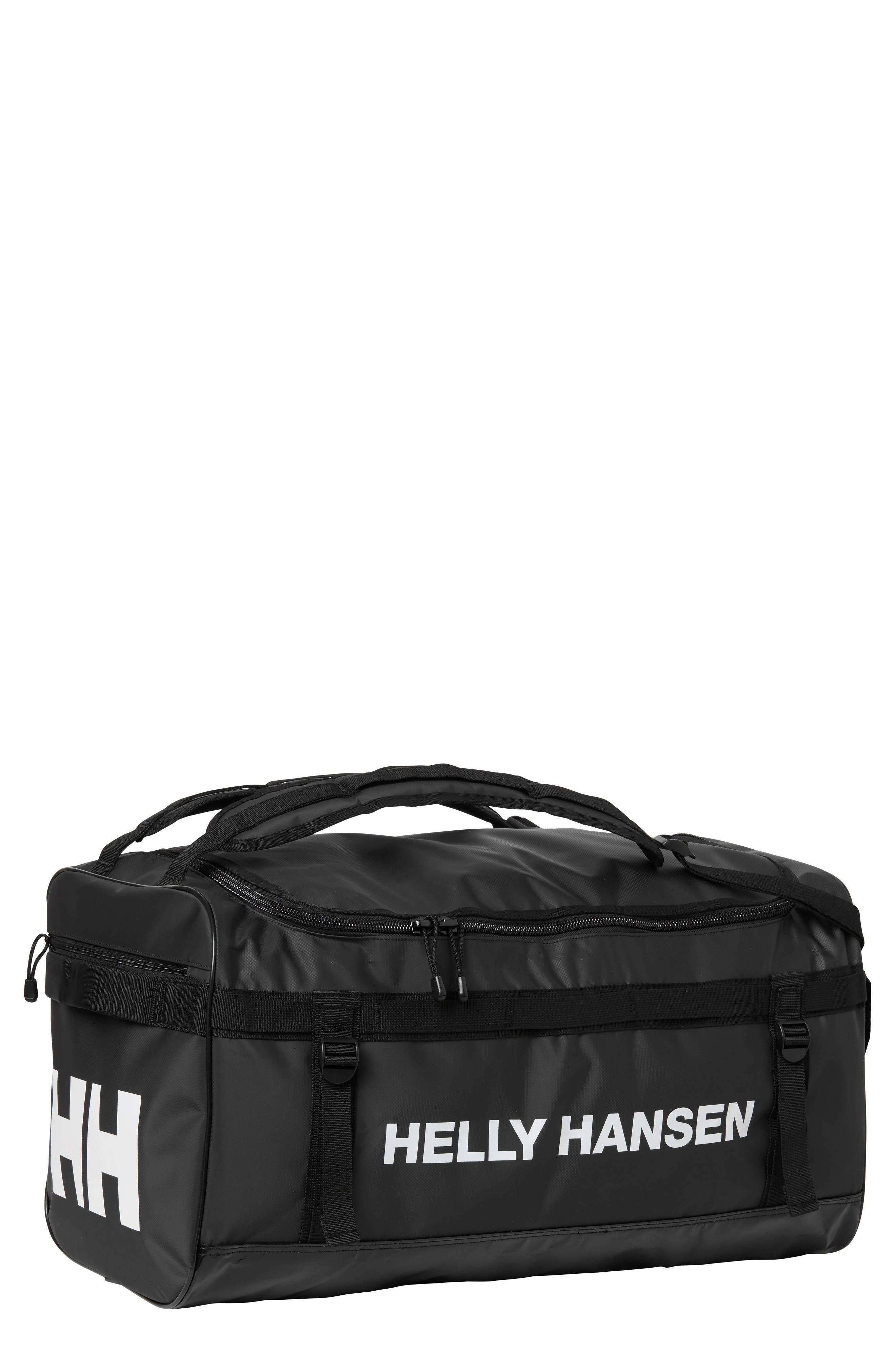New Classic Small Duffel Bag,                             Main thumbnail 1, color,                             BLACK