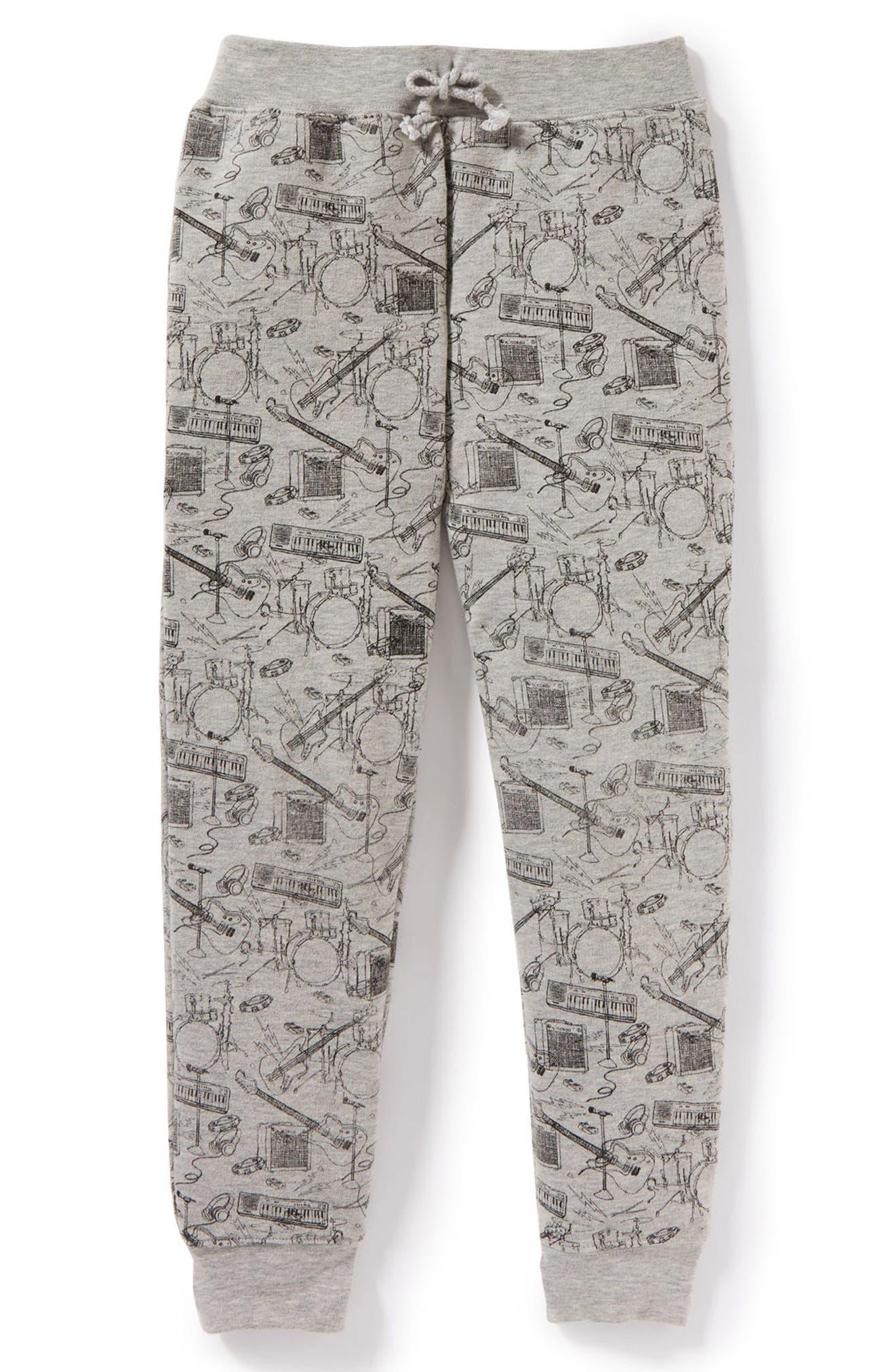 Music Graphic Sweatpants,                         Main,                         color, 031