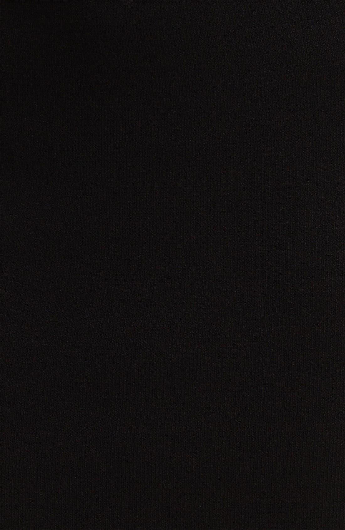 ST. JOHN COLLECTION,                             Santana Knit Skirt,                             Alternate thumbnail 6, color,                             001