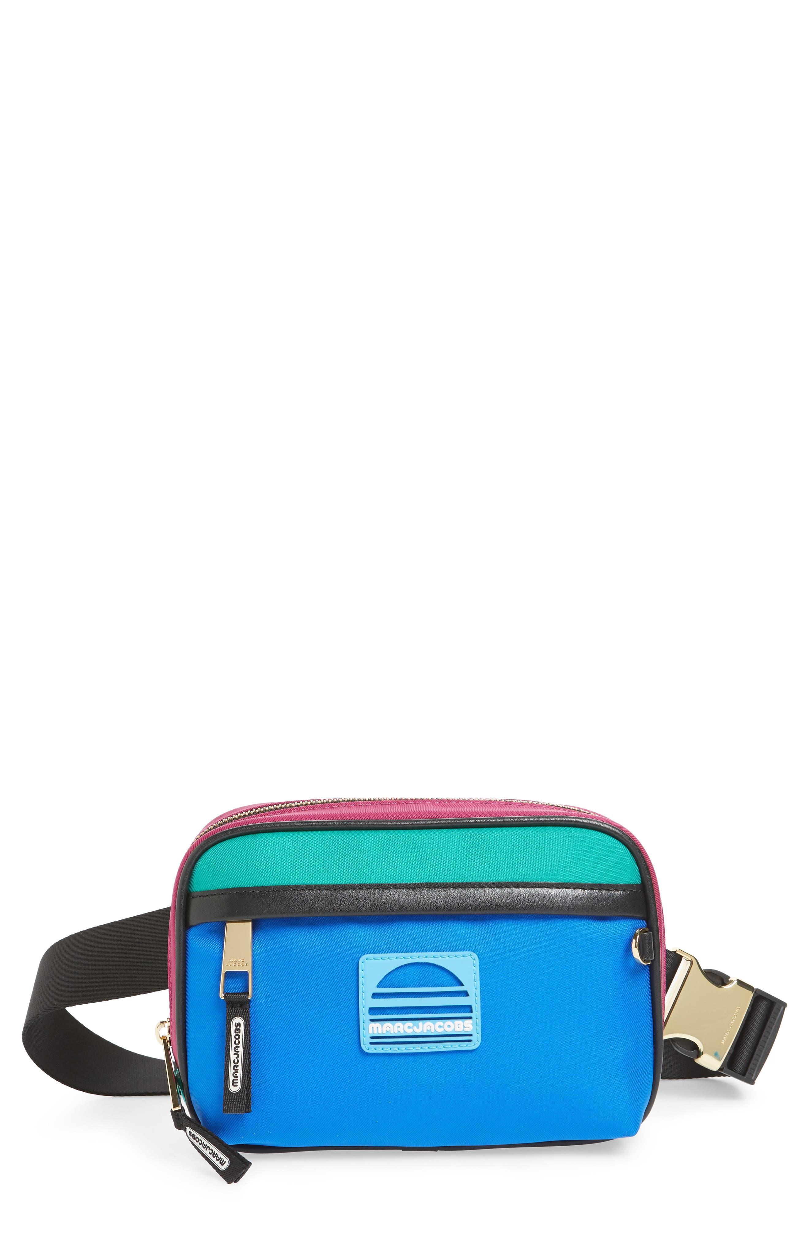 Sport Belt Bag,                             Main thumbnail 1, color,                             MAGENTA MULTI