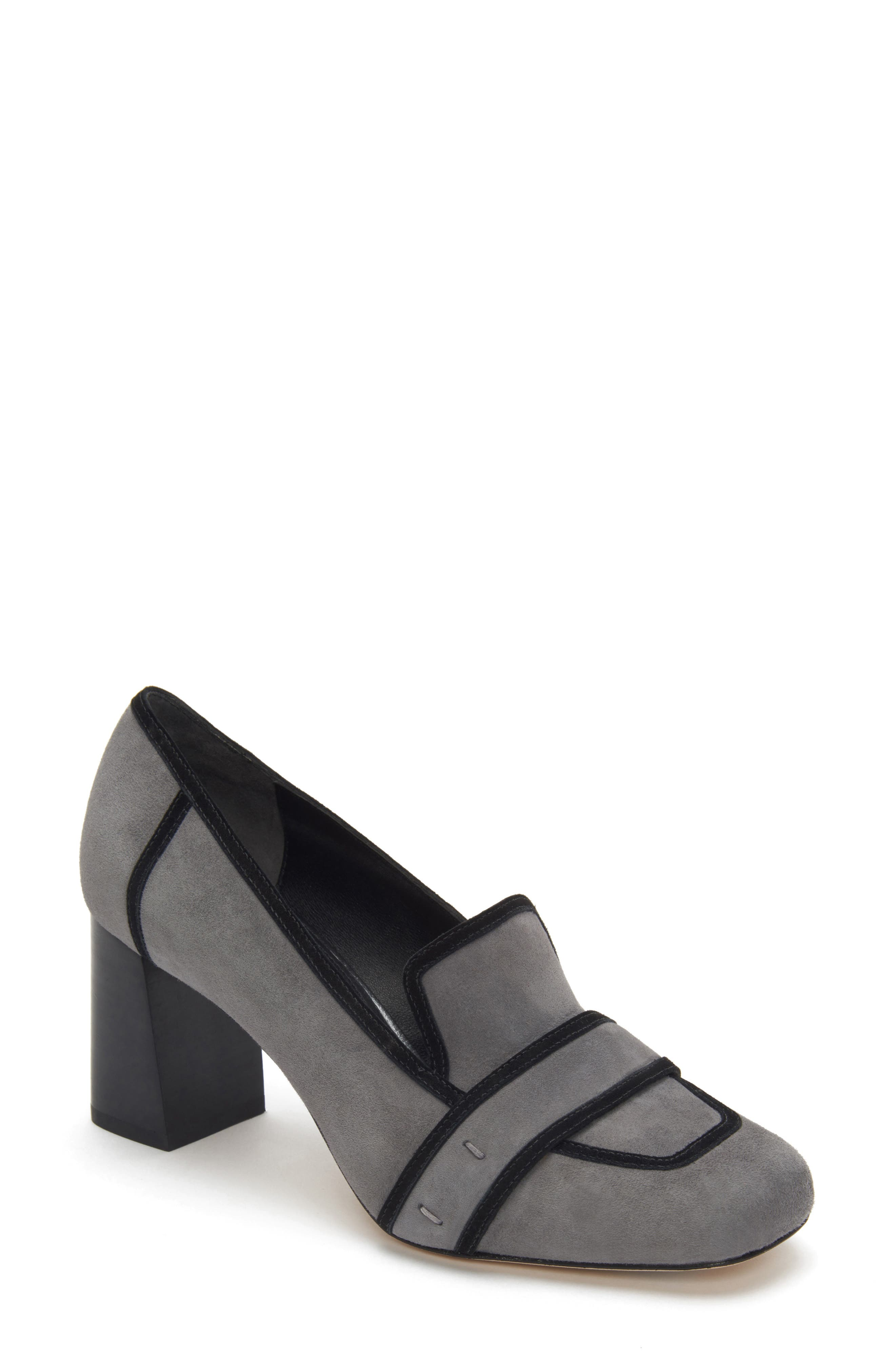 ETIENNE AIGNER Darcy Pump in Granite Suede